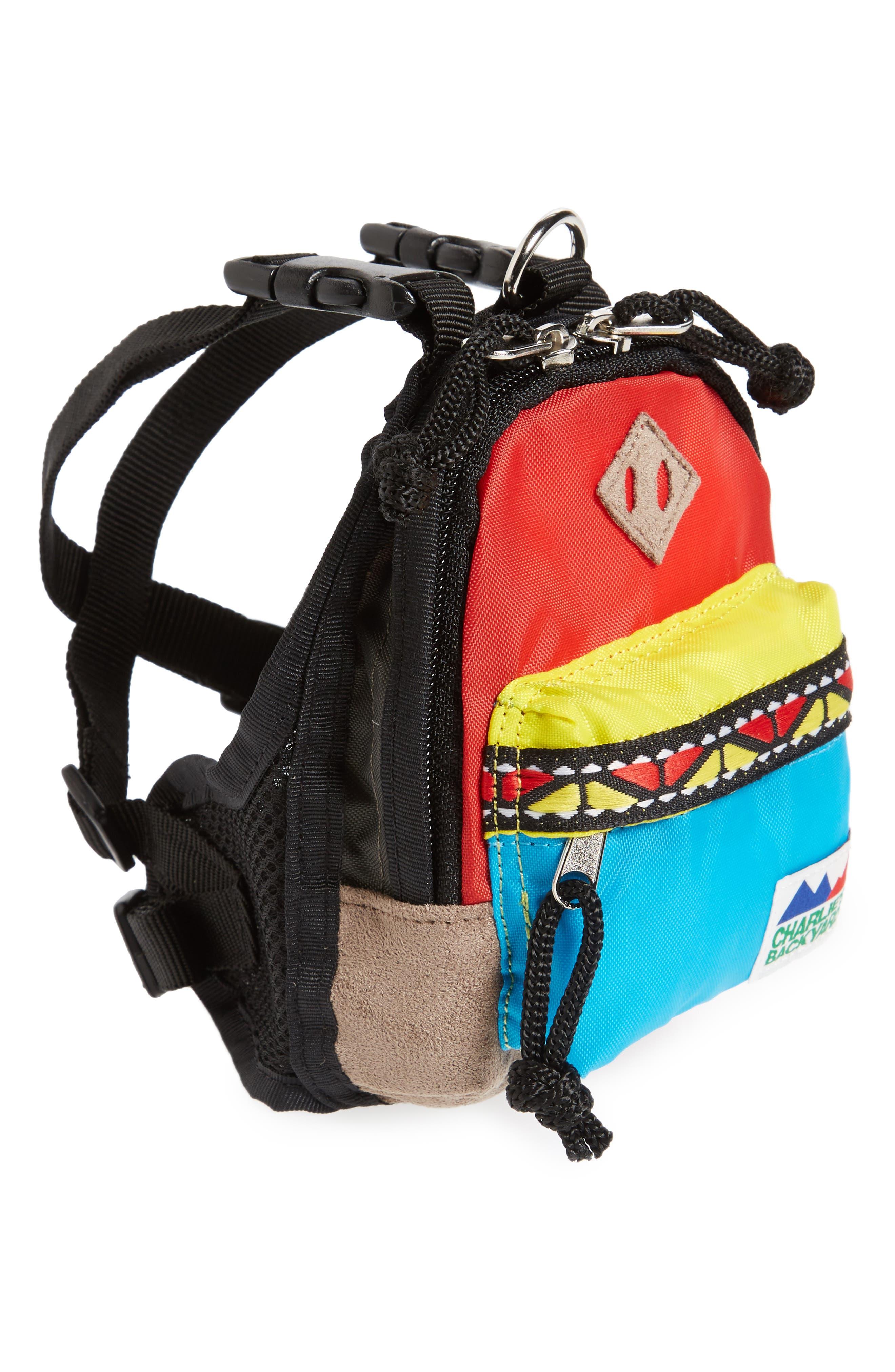 Charlie's Backyard Dog Backpack
