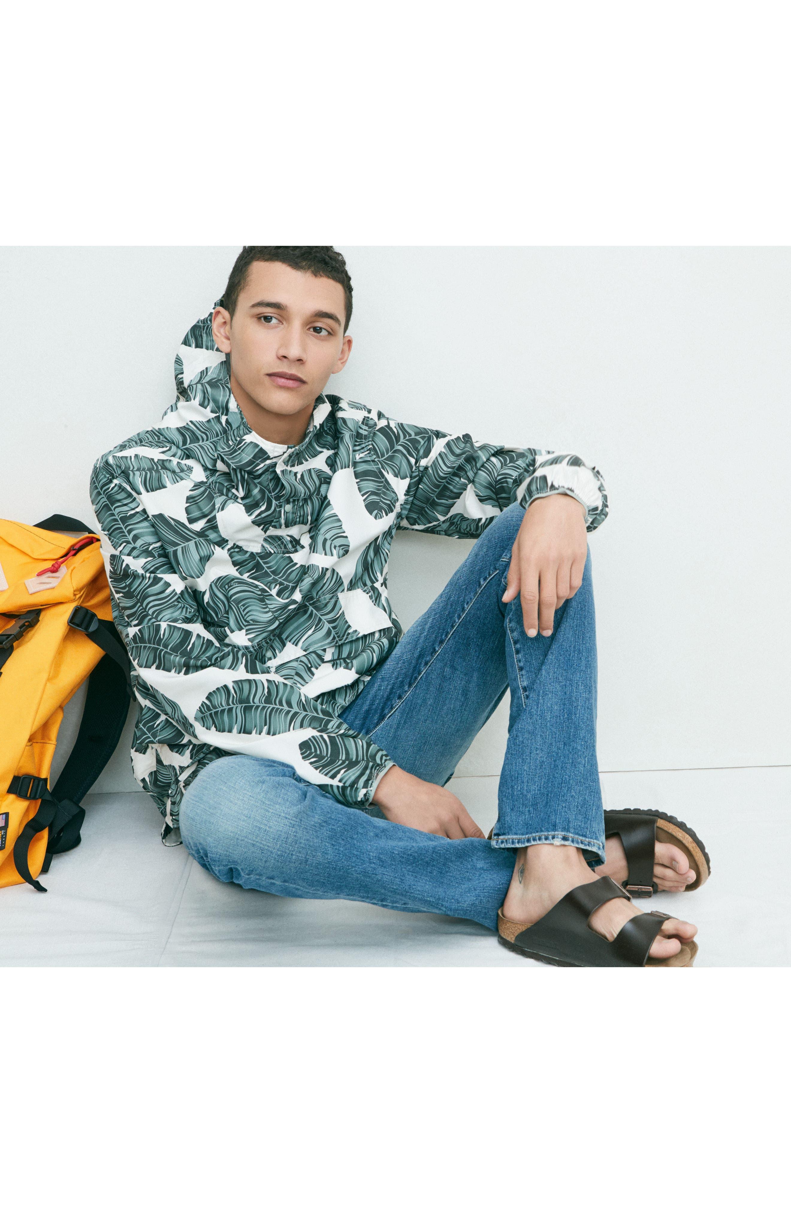 Alternate Image 7  - AG Ives Straight Fit Jeans (Grasslands)