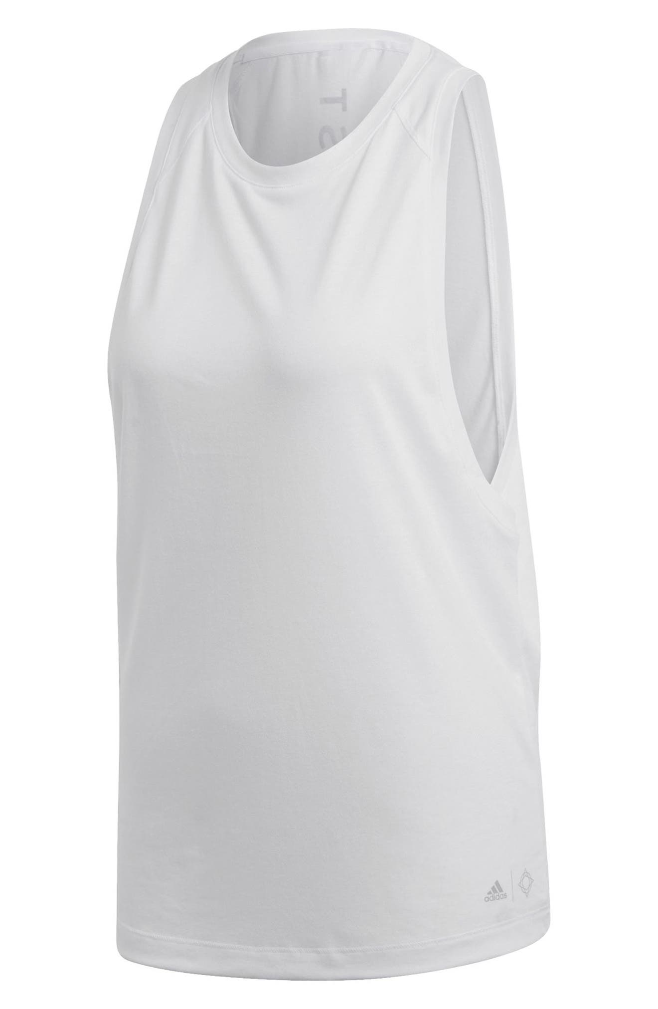 Wanderlust Parley Tank,                             Alternate thumbnail 8, color,                             White