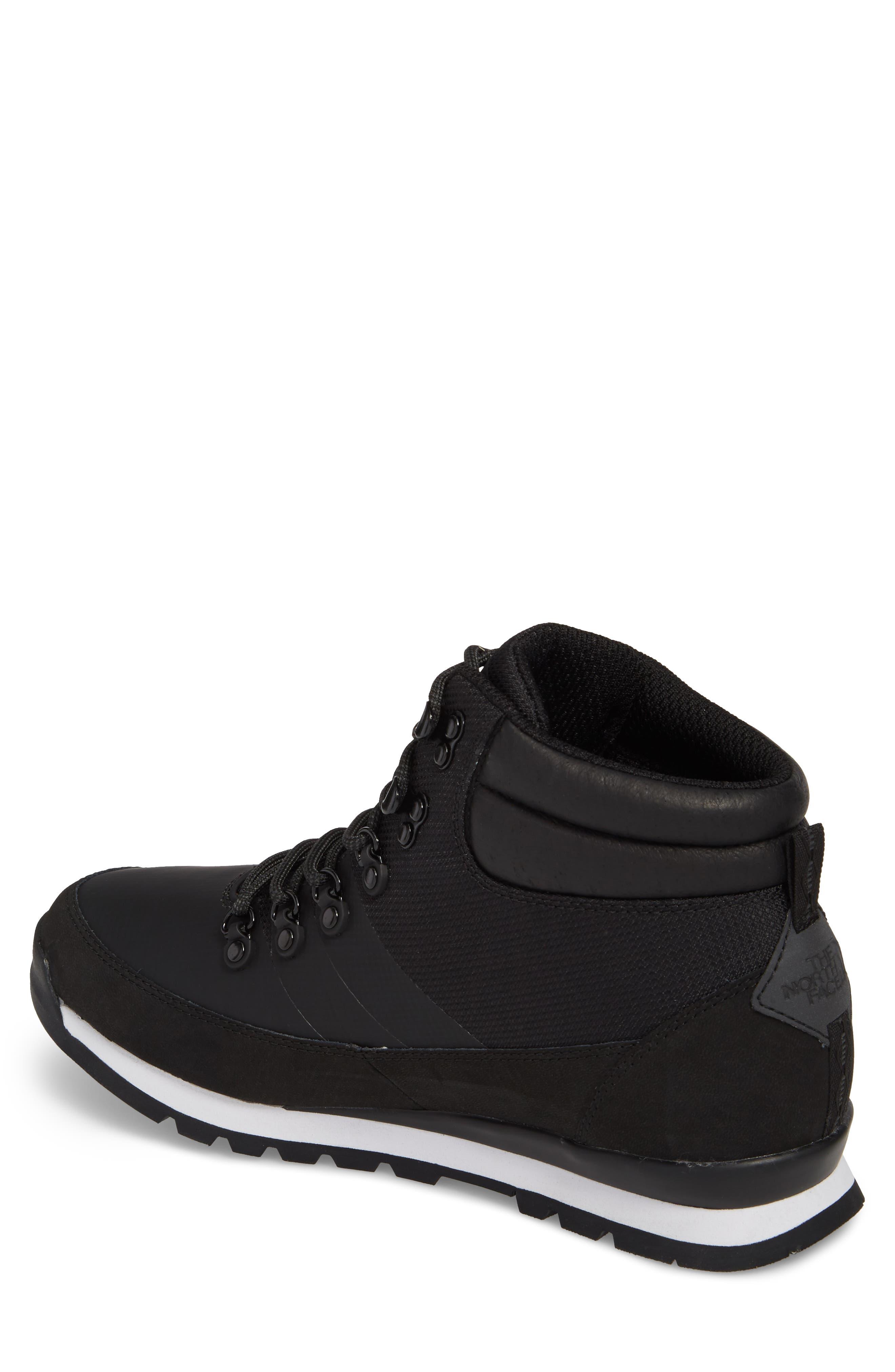 Back to Berkeley Mid AM Sneaker Boot,                             Alternate thumbnail 2, color,                             Tnf Black/ Tnf Black