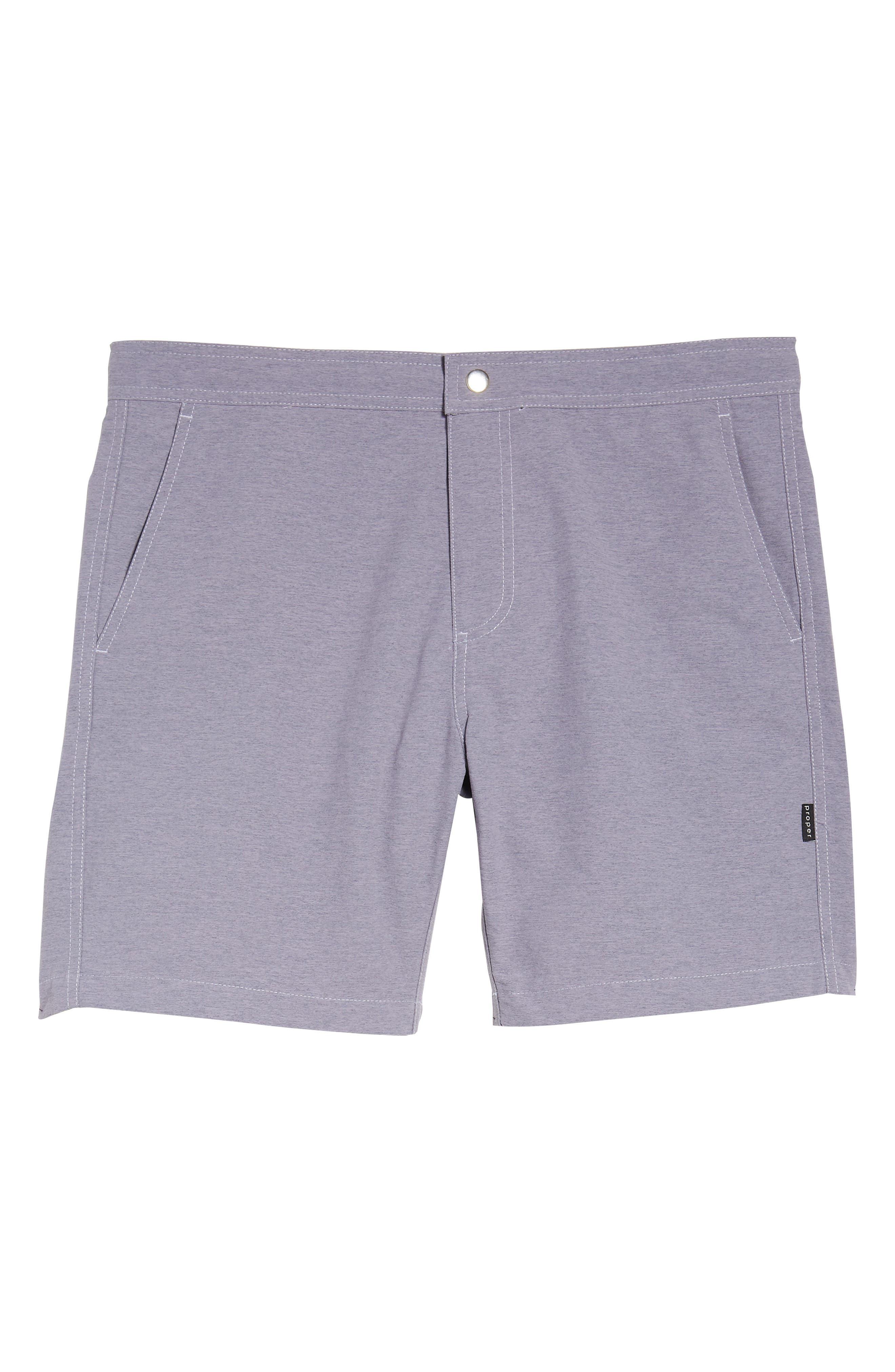 Bond Hybrid Shorts,                             Alternate thumbnail 6, color,                             Venice Purple