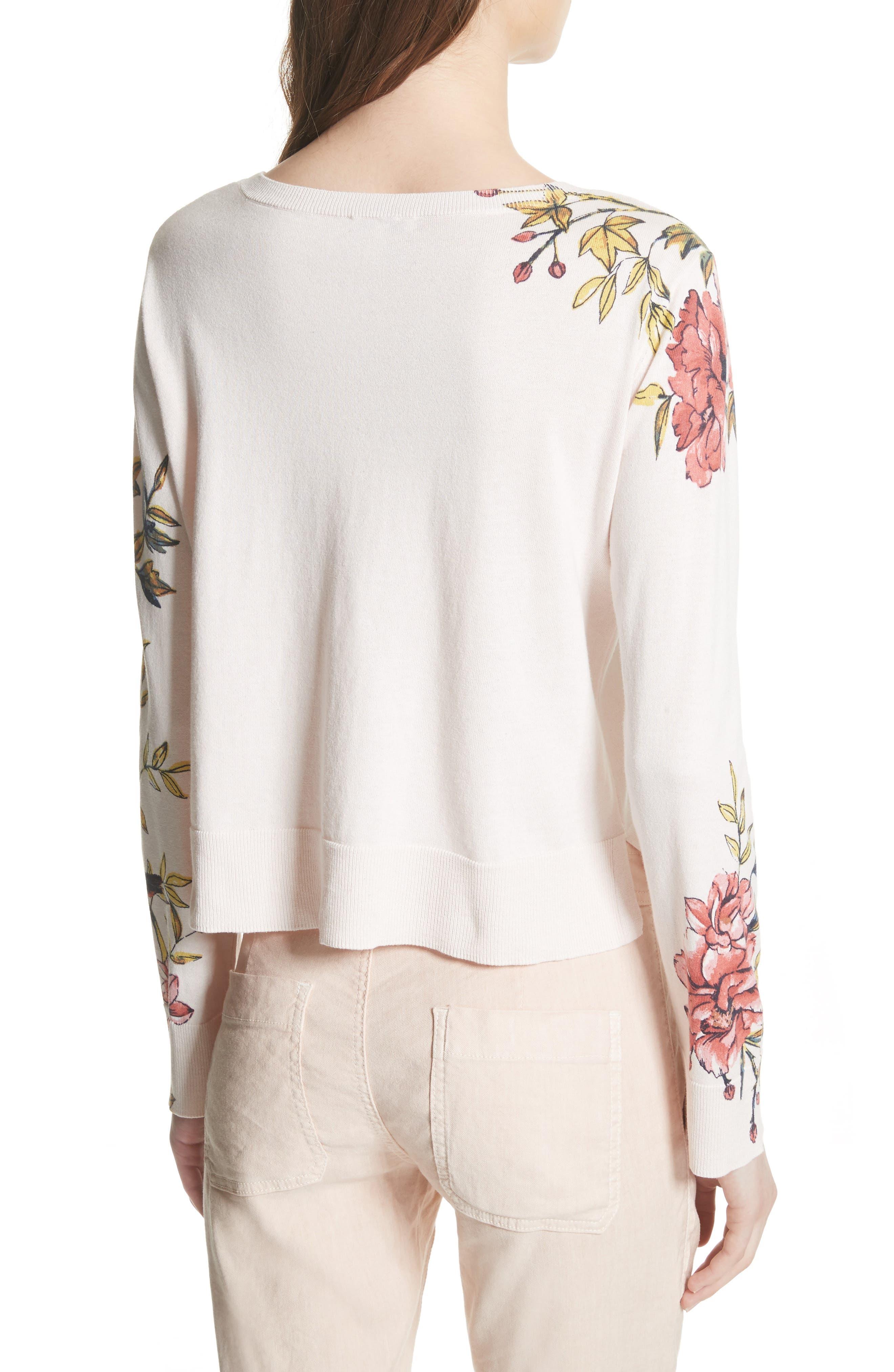Paari Silk & Cashmere Sweater,                             Alternate thumbnail 2, color,                             Rosewater