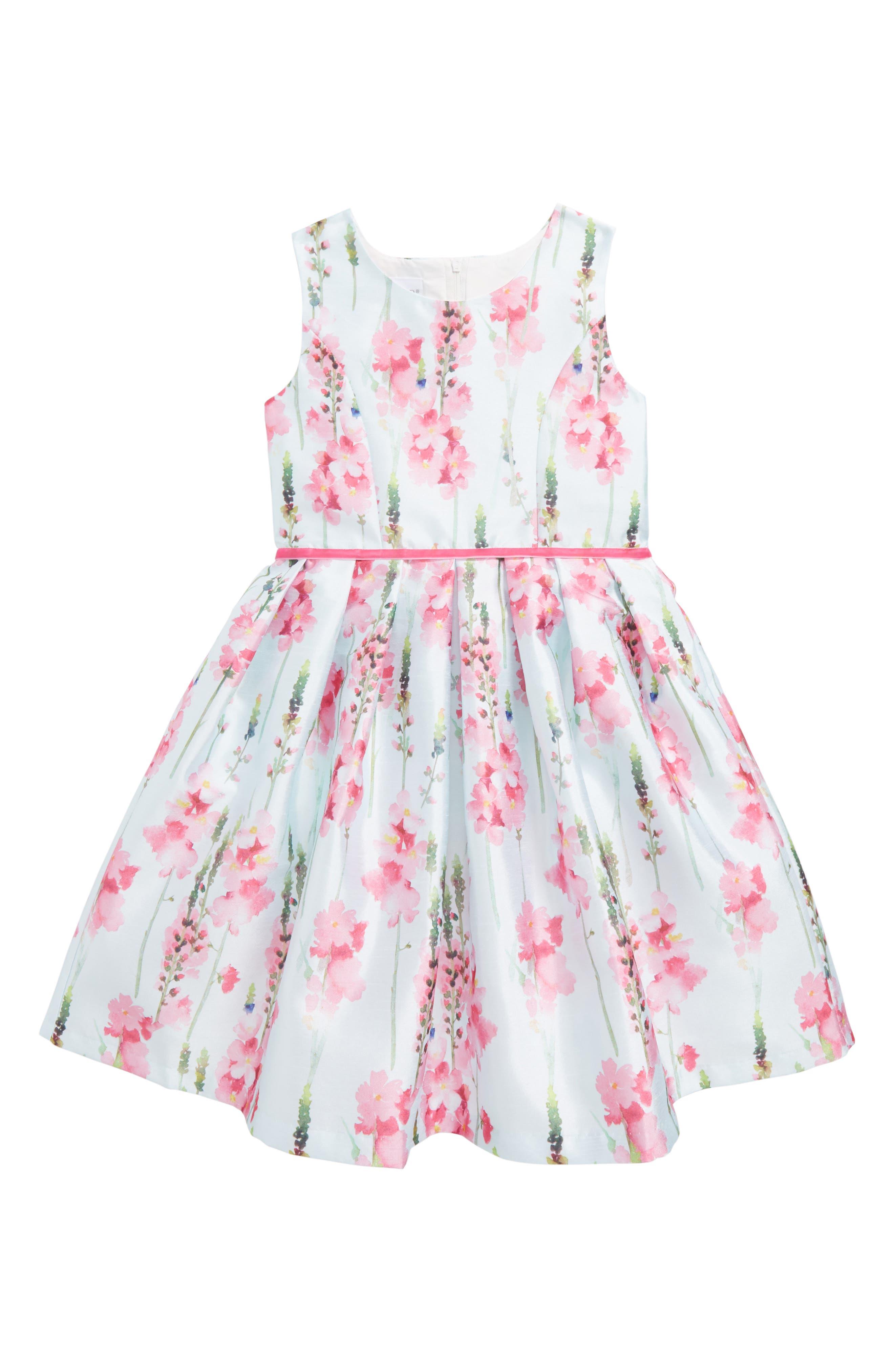 Frais Floral Sleeveless Dress (Toddler Girls, Little Girls & Big Girls)
