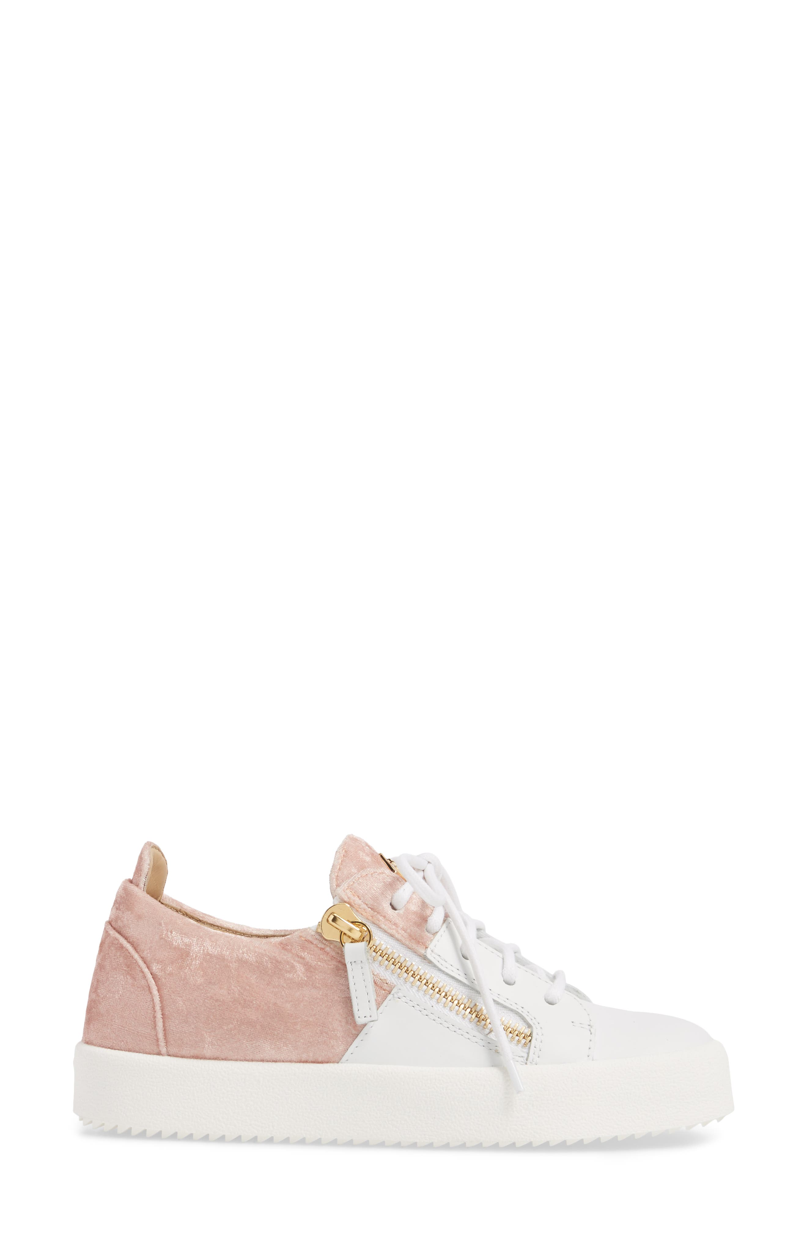 Alternate Image 3  - Giuseppe Zanotti Mid Top Platform Sneaker (Women)