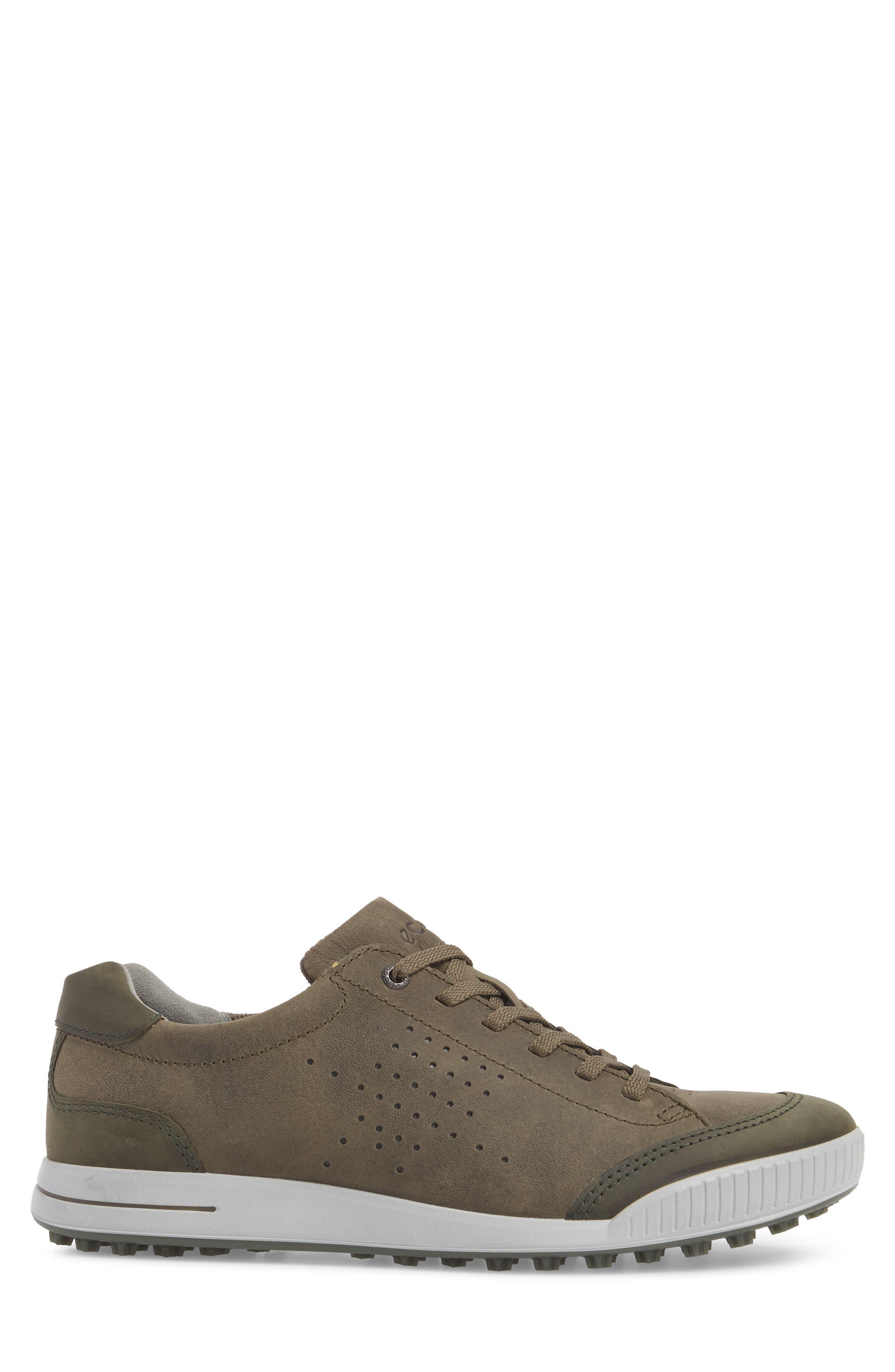 Street Retro HM Golf Shoe,                             Alternate thumbnail 3, color,                             Tarmac/ Deep Fore Leather