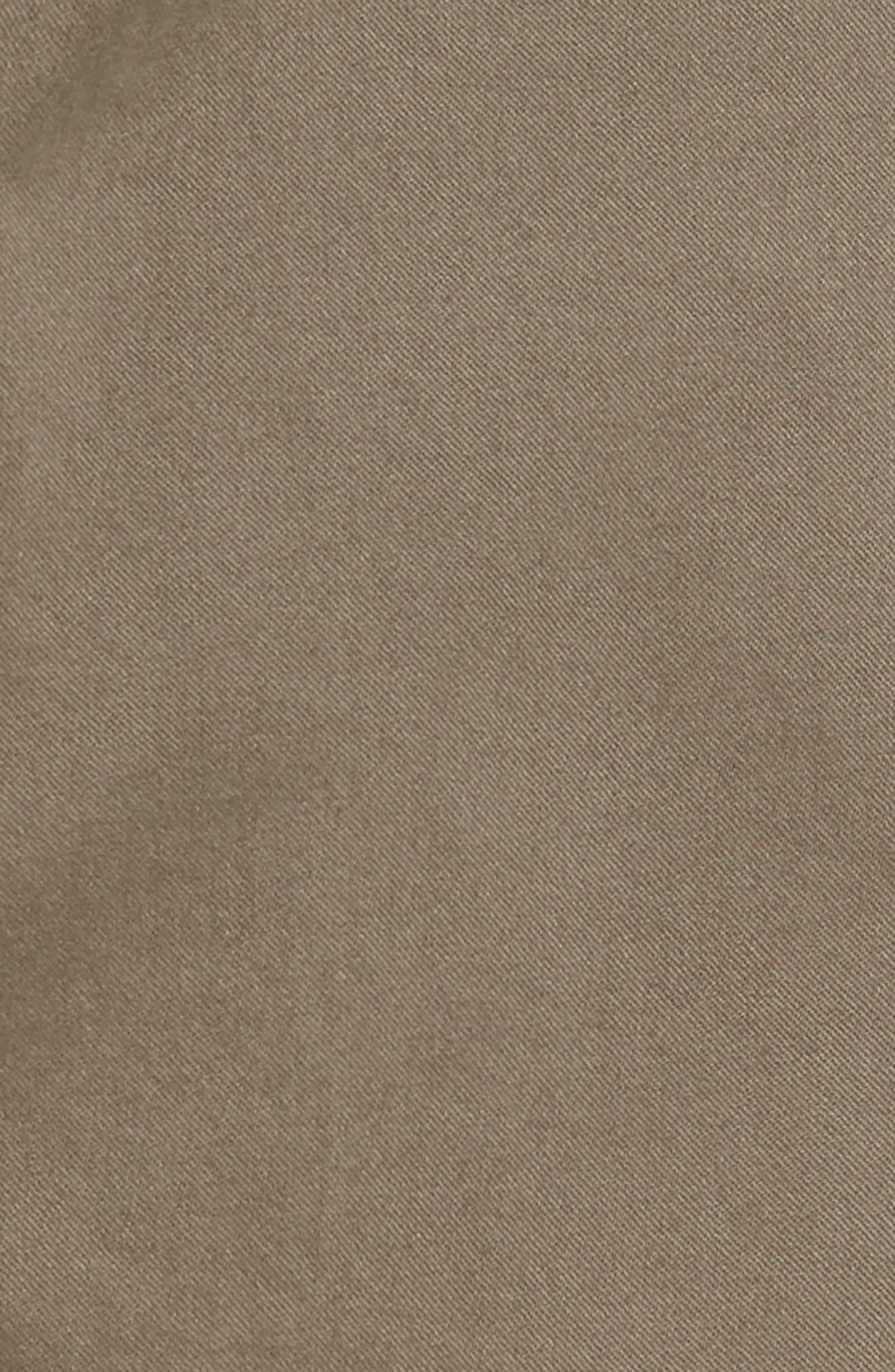 Matt Relaxed Fit Twill Pants,                             Alternate thumbnail 5, color,                             Dusty Olive