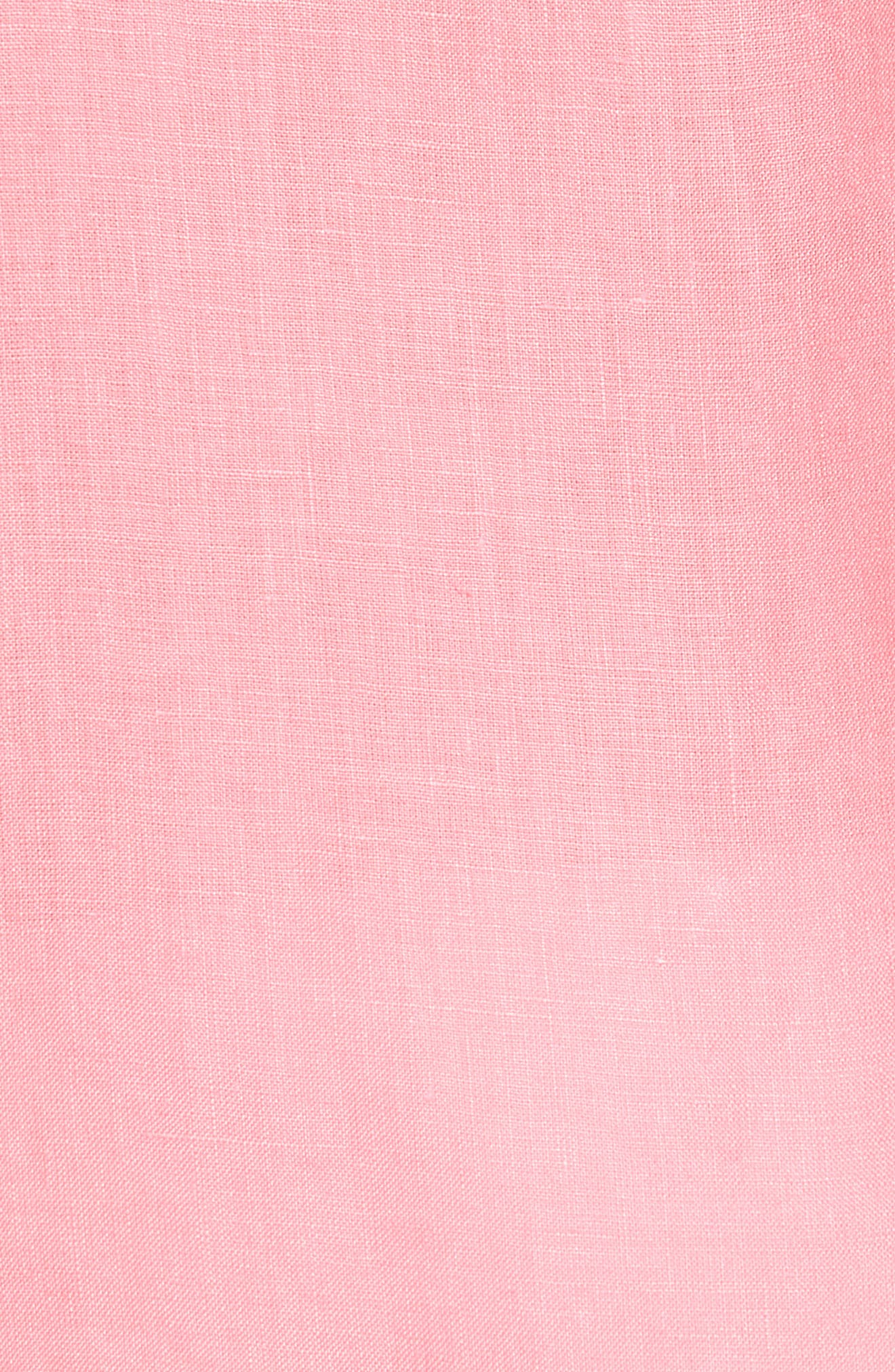 Alternate Image 5  - Vilebrequin Caroubie Regular Fit Linen Sport Shirt
