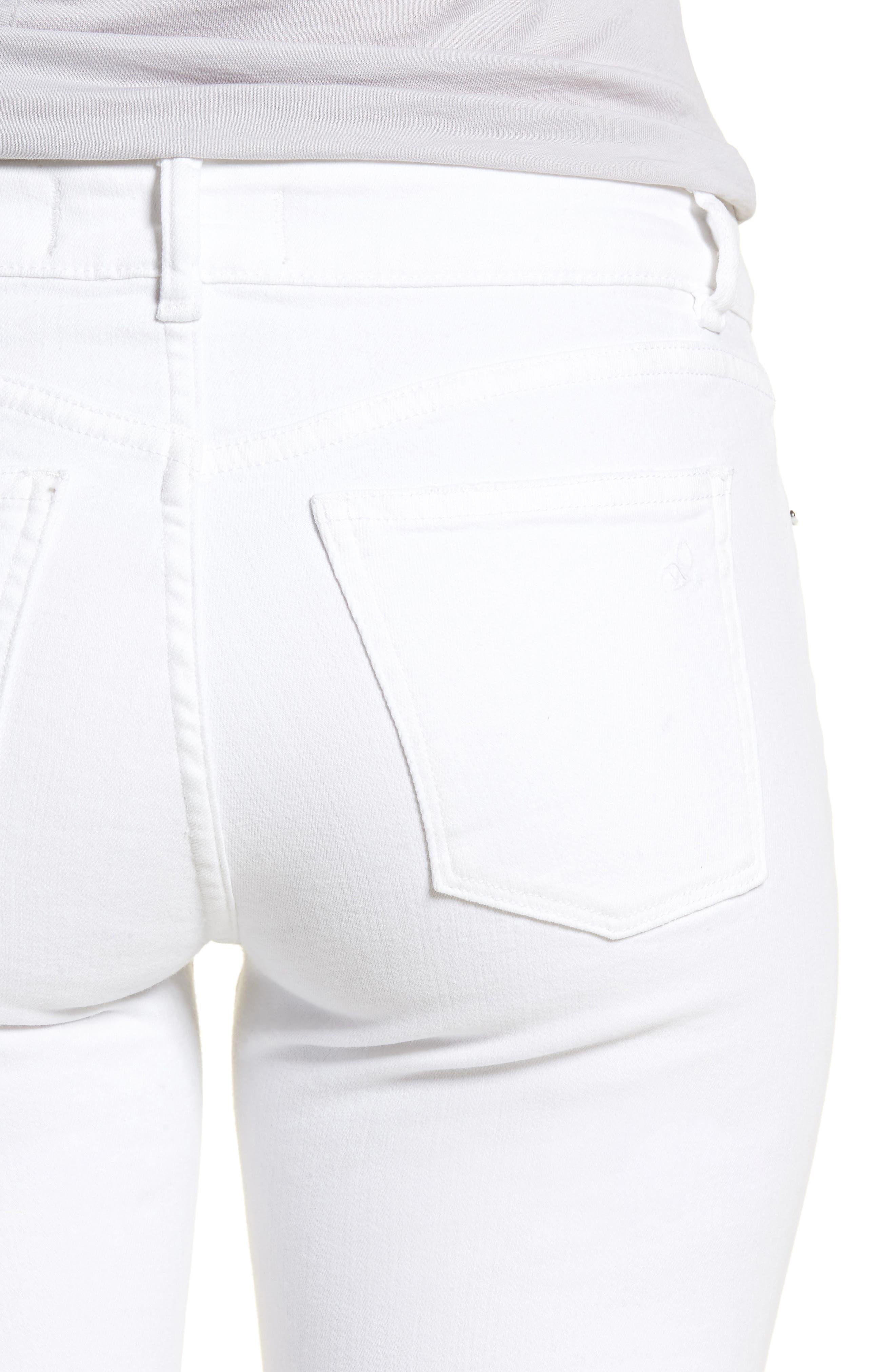 Emma Power Legging Jeans,                             Alternate thumbnail 4, color,                             Dawson