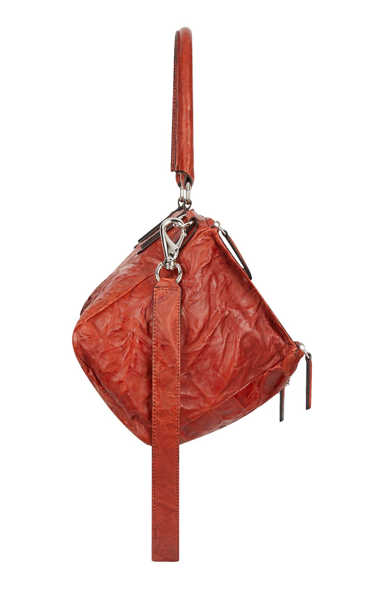 Alternate Image 4  - Givenchy 'Medium Pepe Pandora' Leather Satchel