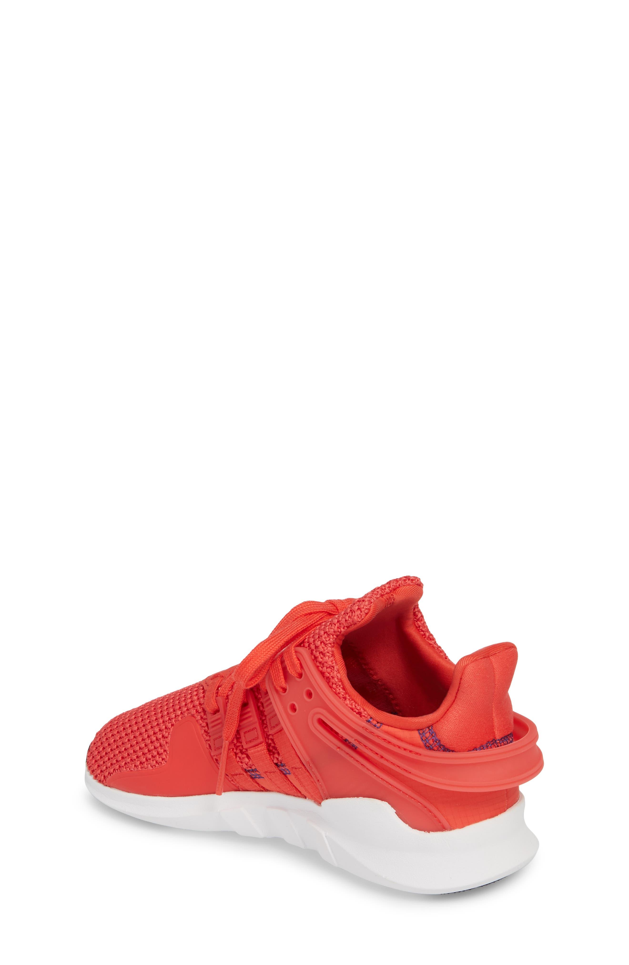EQT Support Adv Sneaker,                             Alternate thumbnail 2, color,                             Coral White