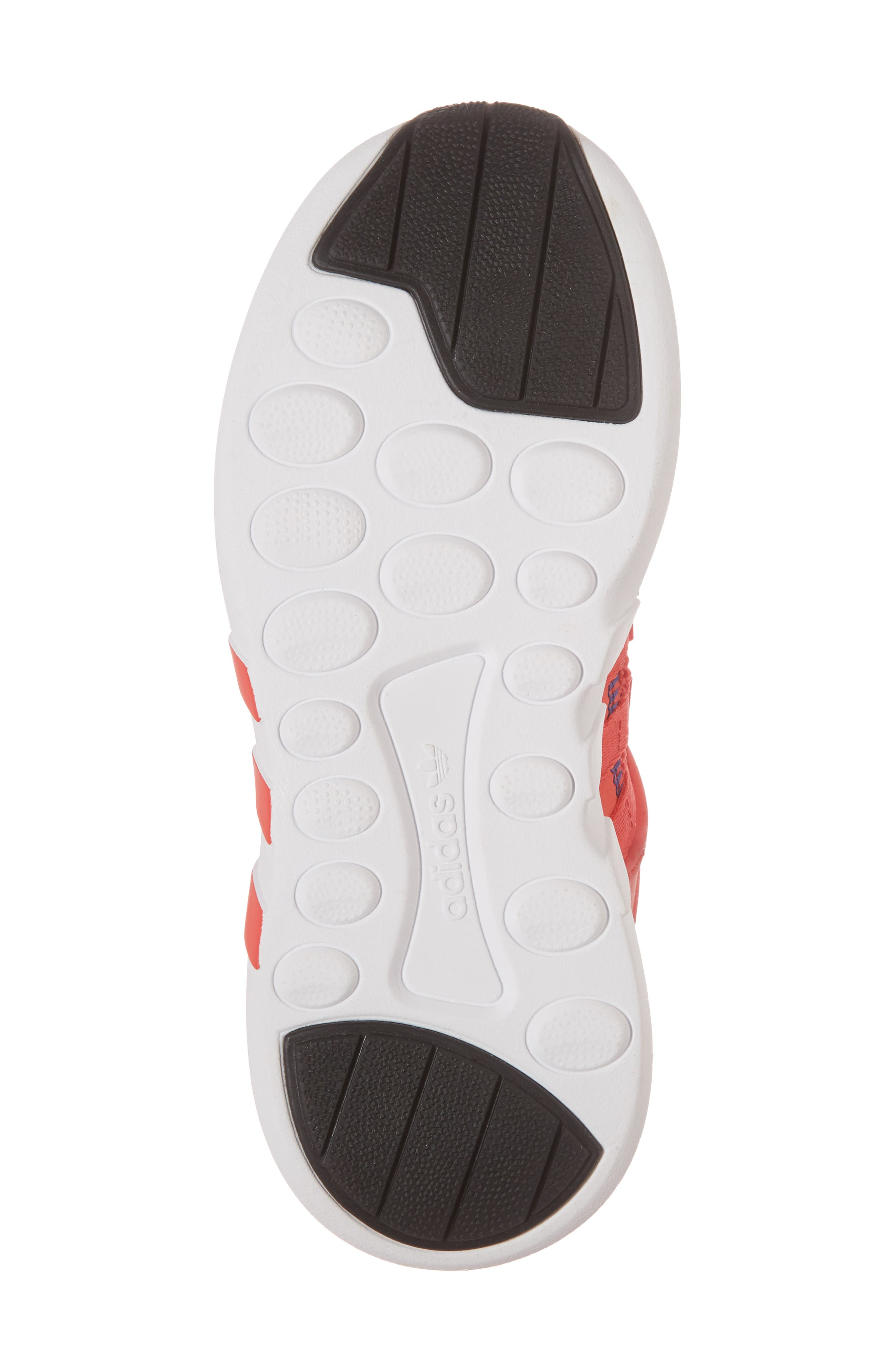 EQT Support Adv Sneaker,                             Alternate thumbnail 6, color,                             Coral White