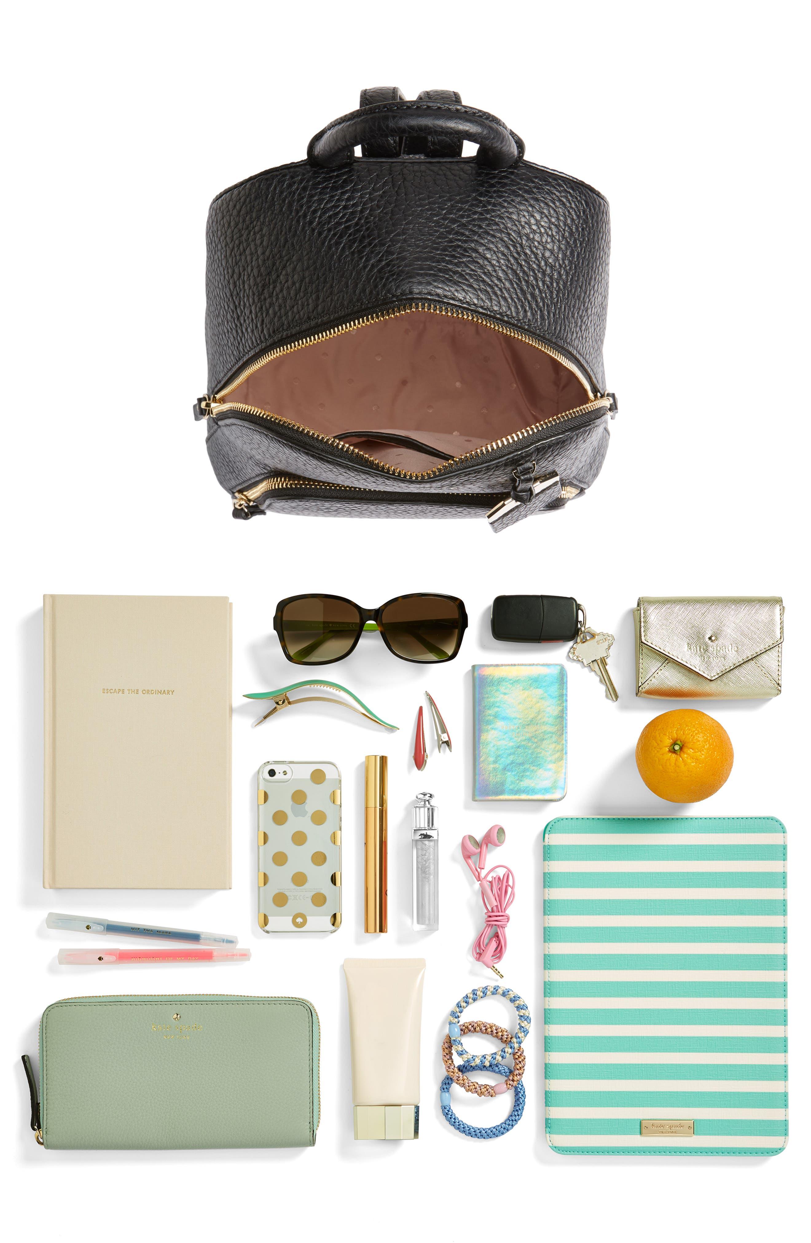 carter street - caden leather backpack,                             Alternate thumbnail 7, color,