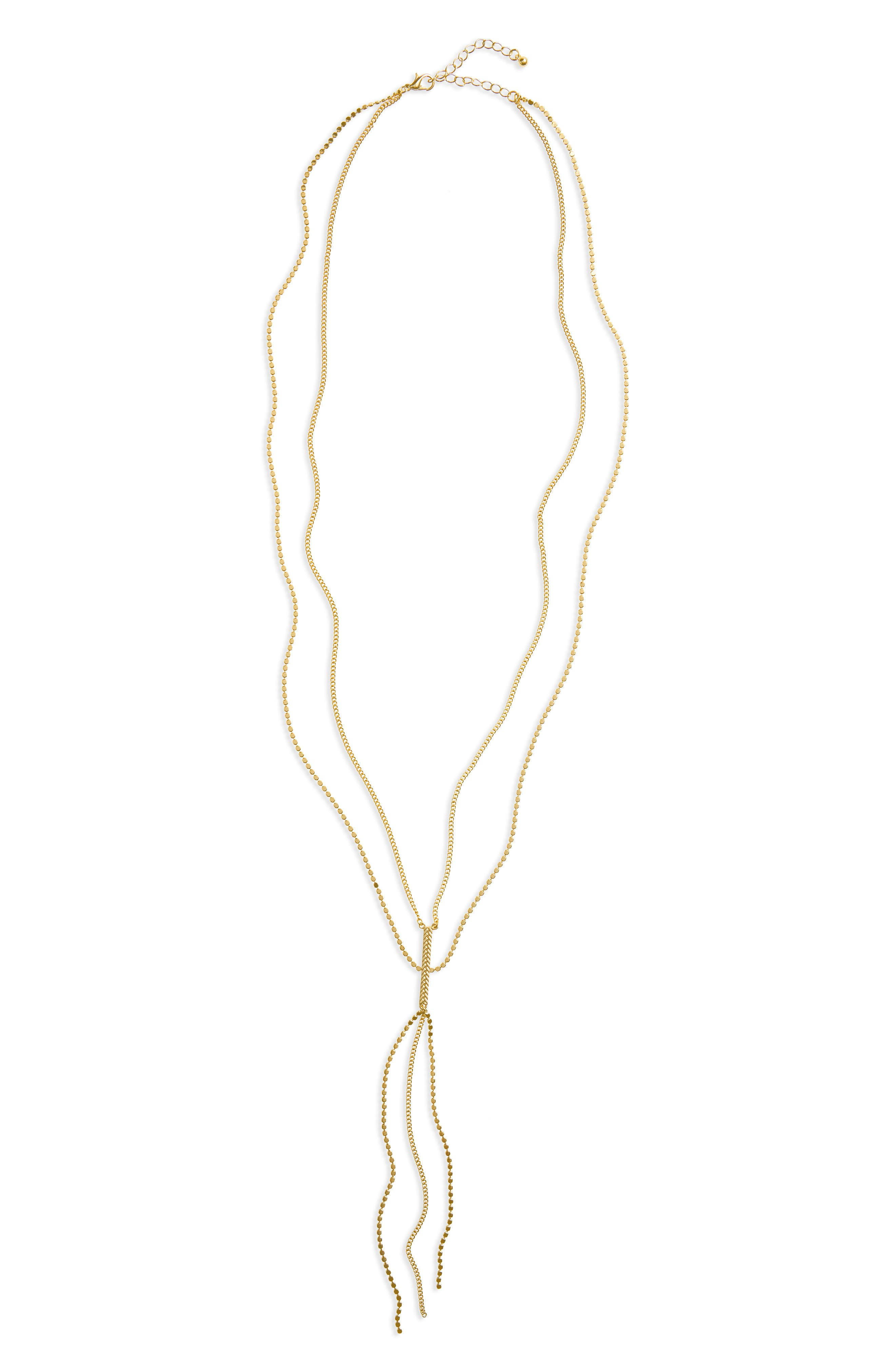 Alternate Image 1 Selected - Panacea Layered Y-Necklace