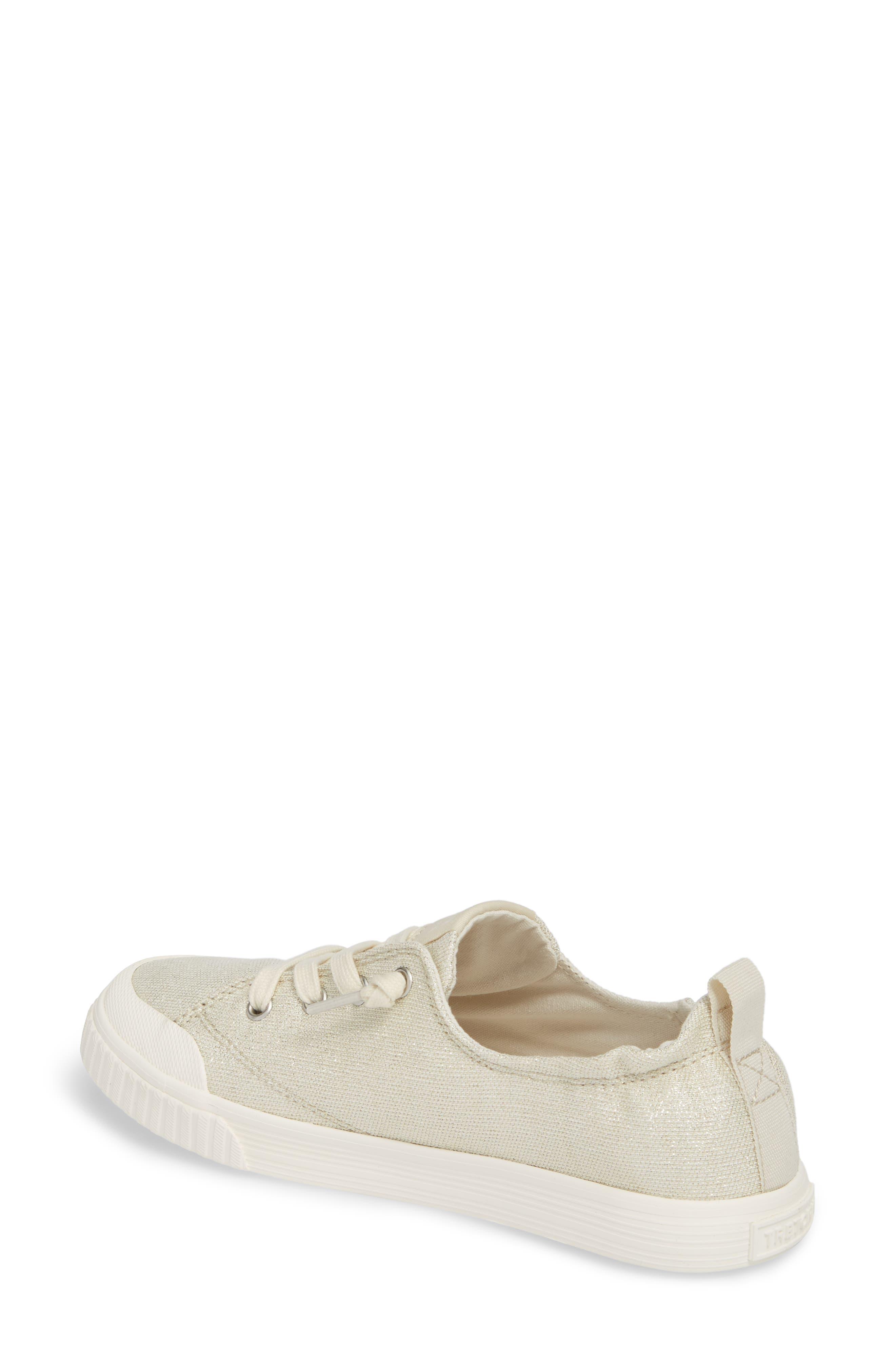Meg Slip-On Sneaker,                             Alternate thumbnail 2, color,                             Angora/ White