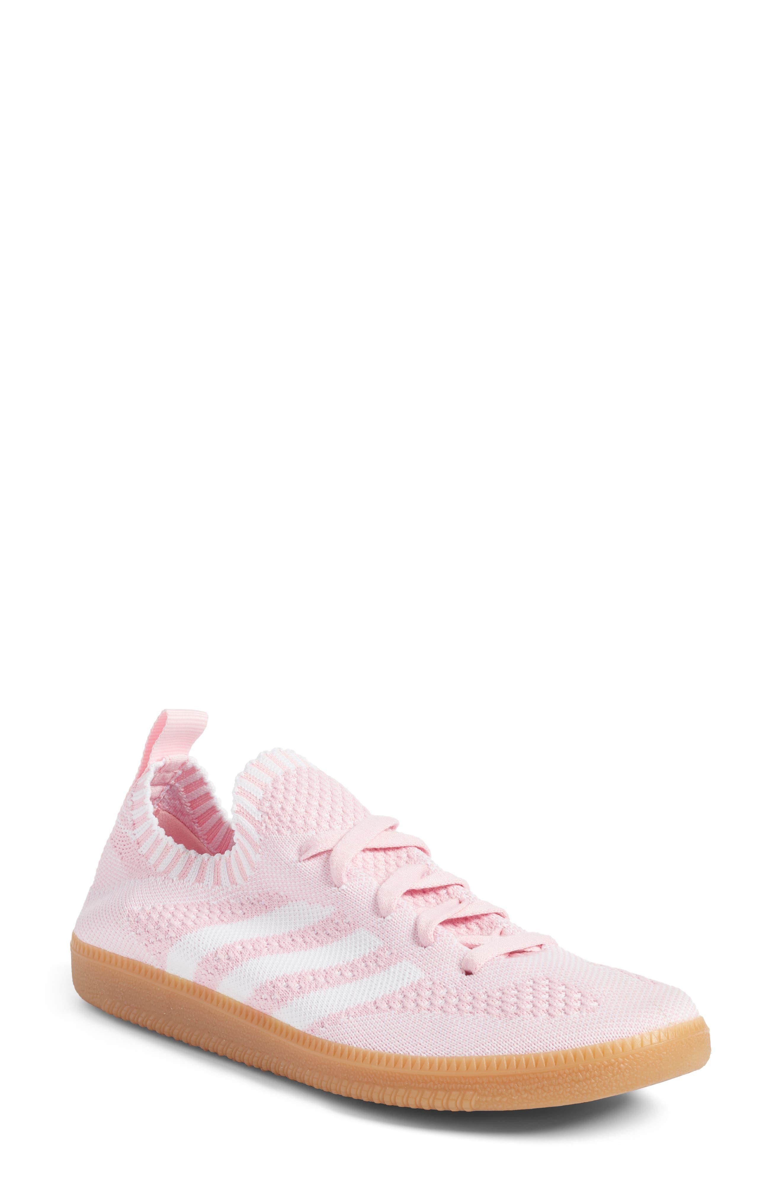 Adidas Originals Samba Primeknit Sneaker In Wonder Pink  White  Gum 1d039cb85