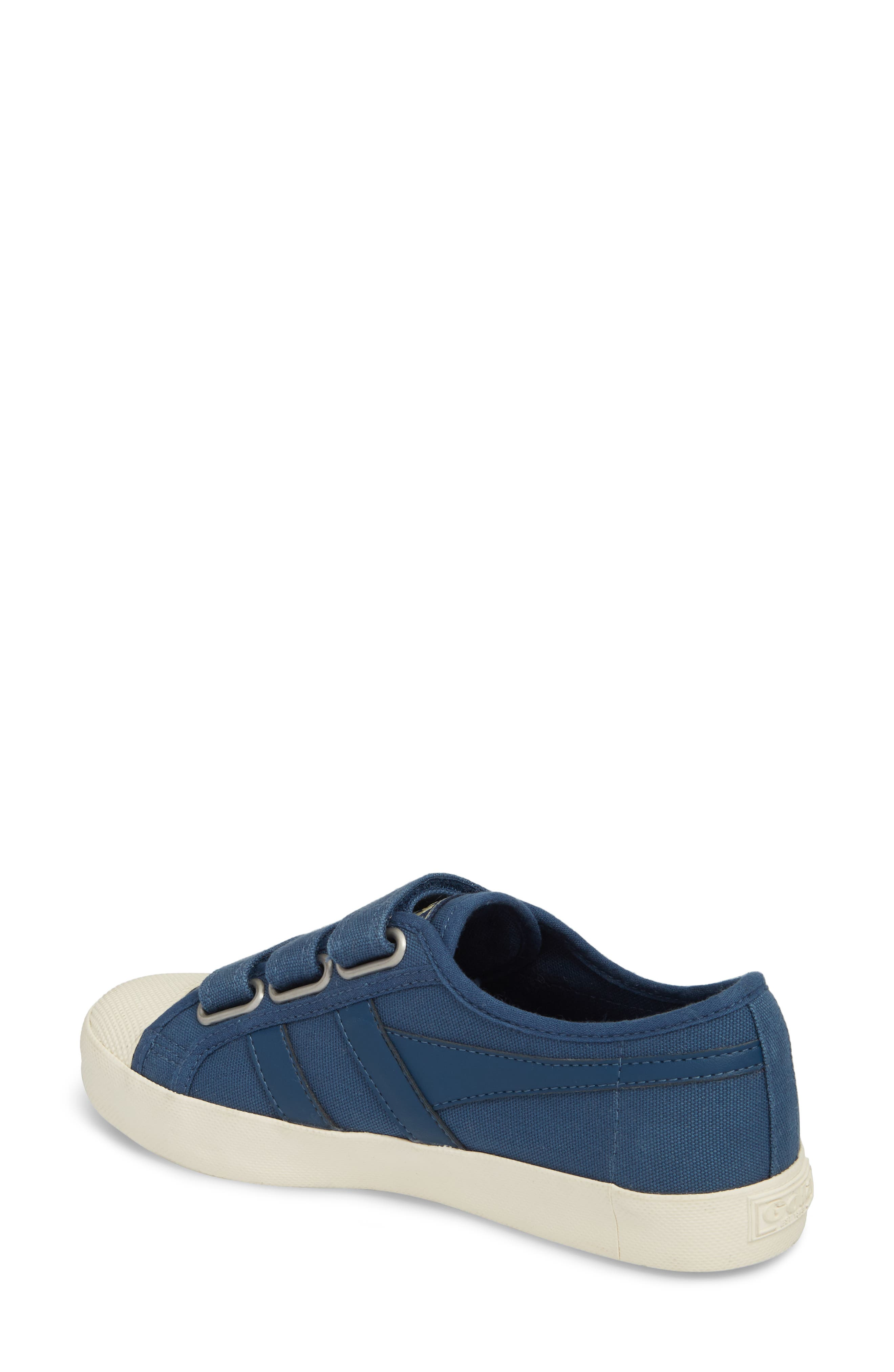 Coaster Low Top Sneaker,                             Alternate thumbnail 2, color,                             Baltic/ Off White