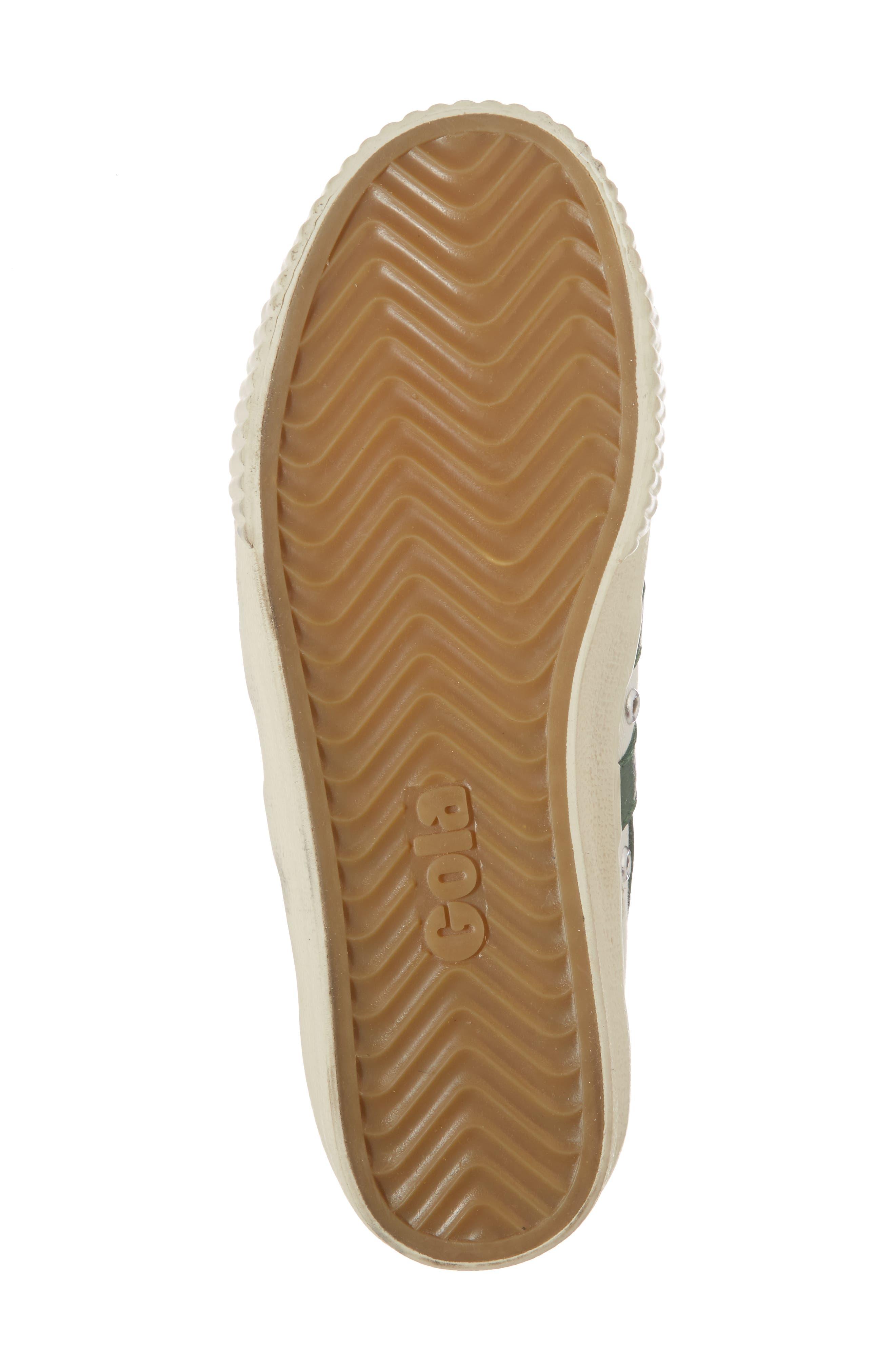 Tennis Mark Cox Sneaker,                             Alternate thumbnail 6, color,                             Off White/ Green