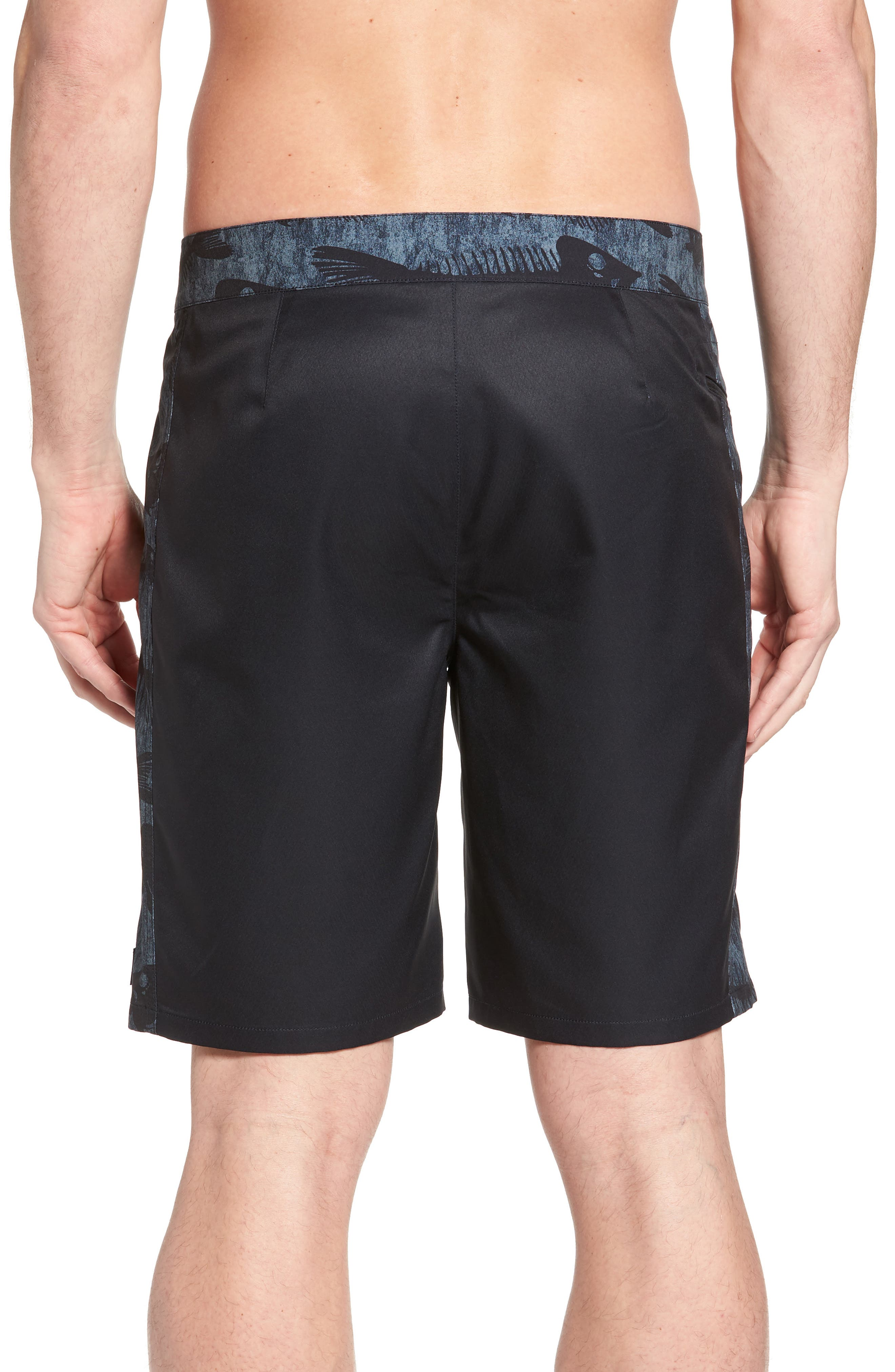 Bonefish Board Shorts,                             Alternate thumbnail 2, color,                             Charcoal Grey