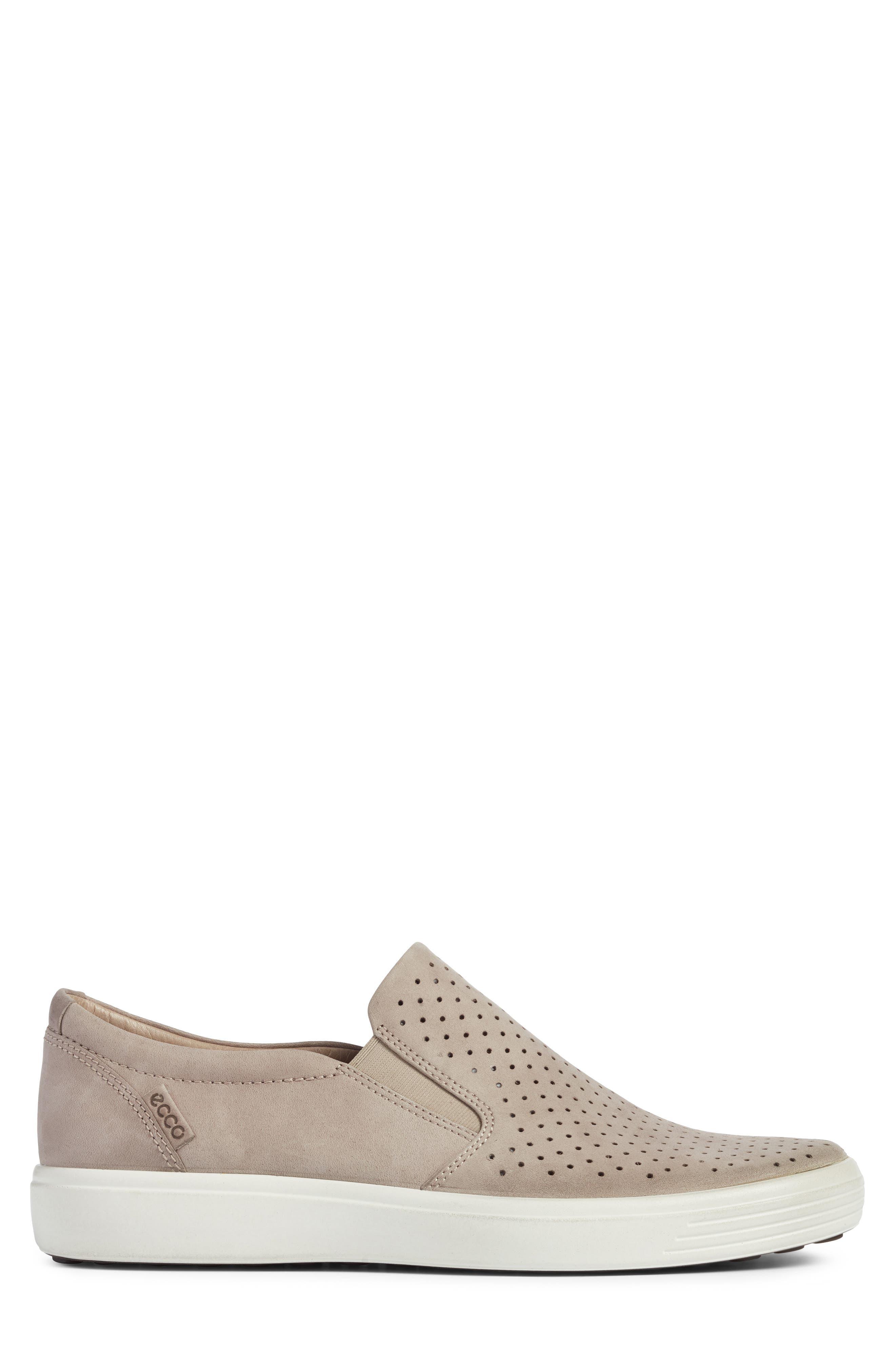 Soft 7 Retro Slip-On Sneaker,                             Alternate thumbnail 3, color,                             Moonrock Leather
