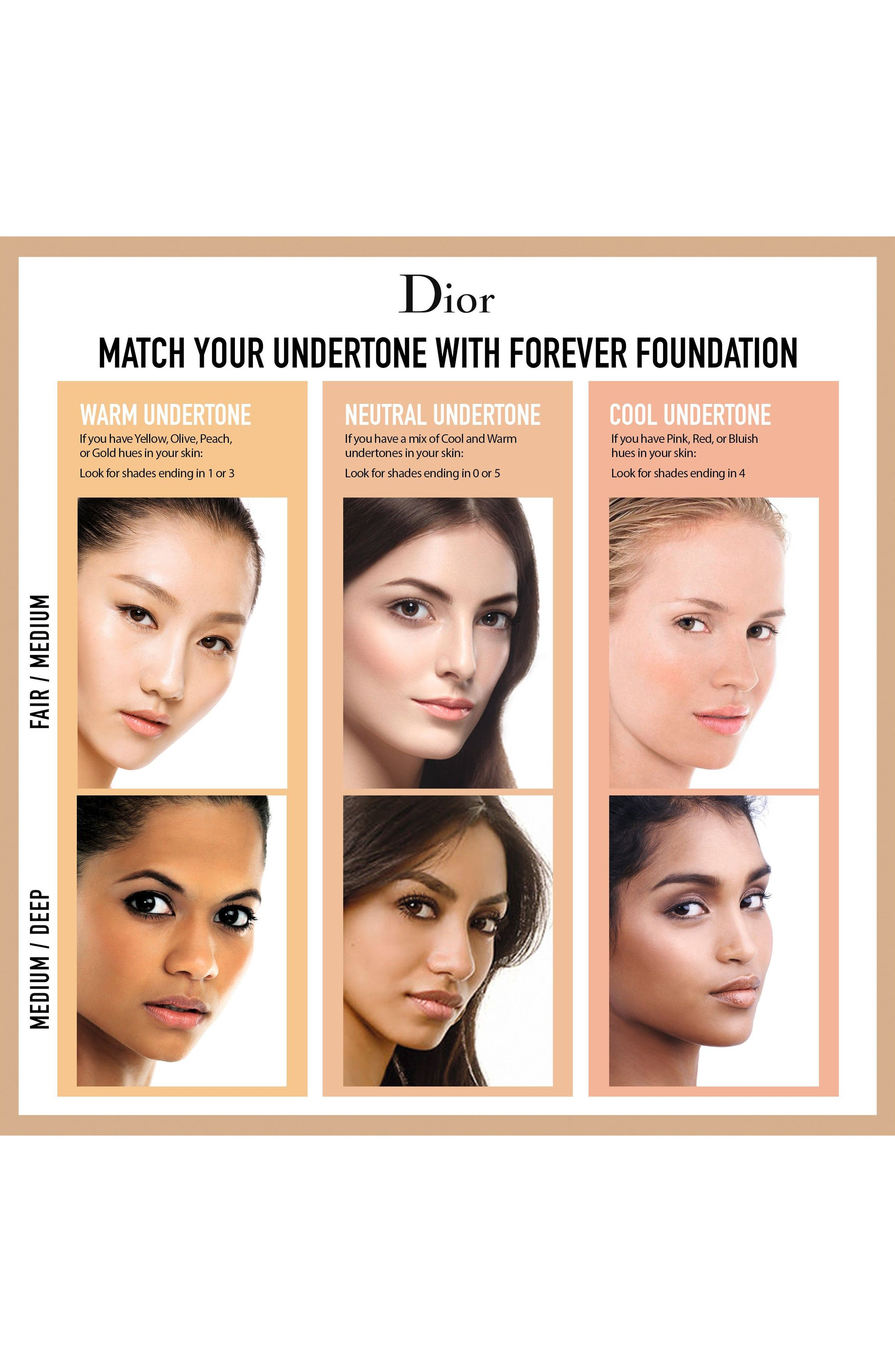 Diorskin Forever Undercover 24-Hour Full Coverage Water-Based Foundation,                             Alternate thumbnail 6, color,