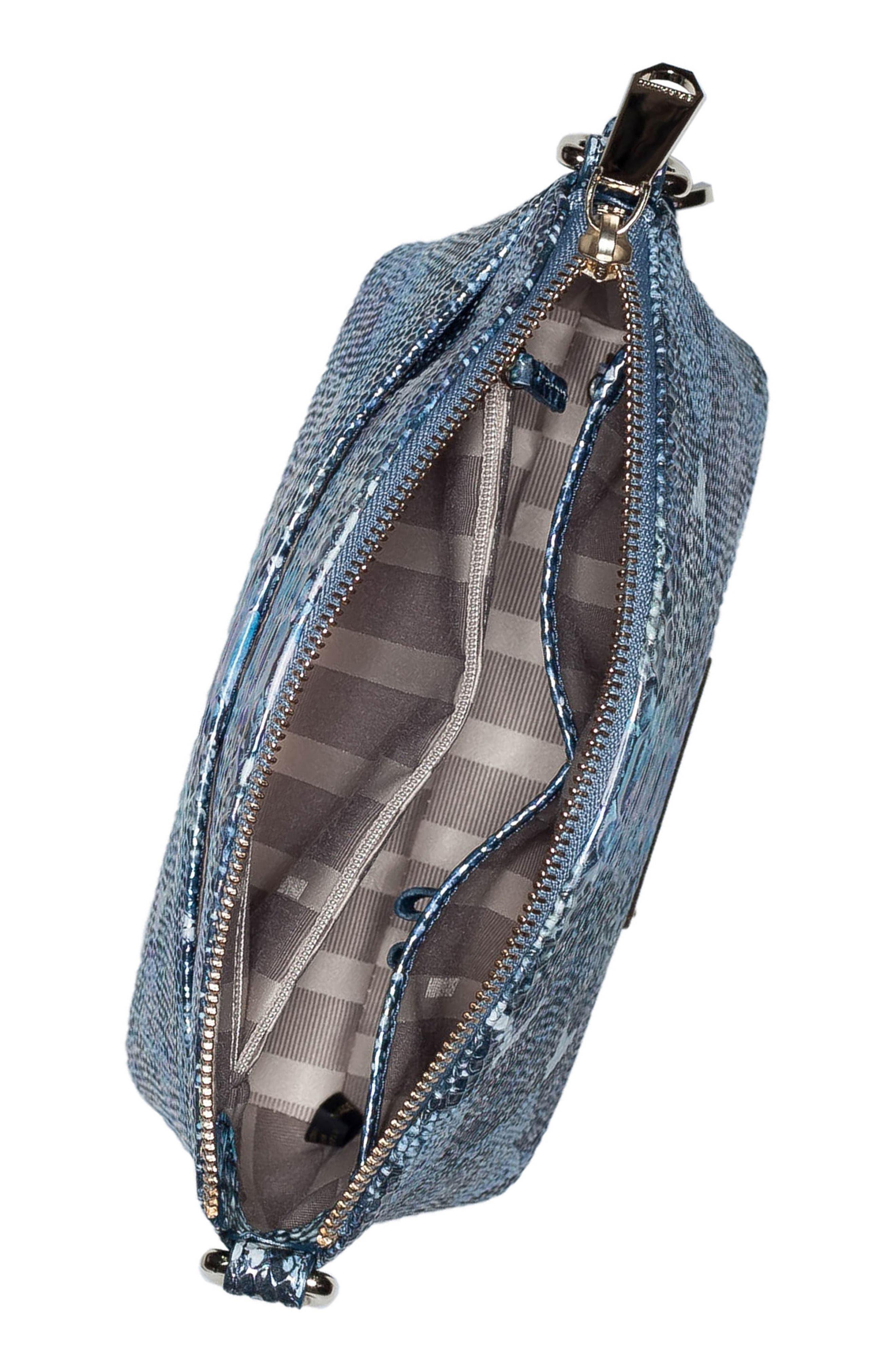 'Mini Duxbury' Crossbody Bag,                             Alternate thumbnail 3, color,                             Marine Seville