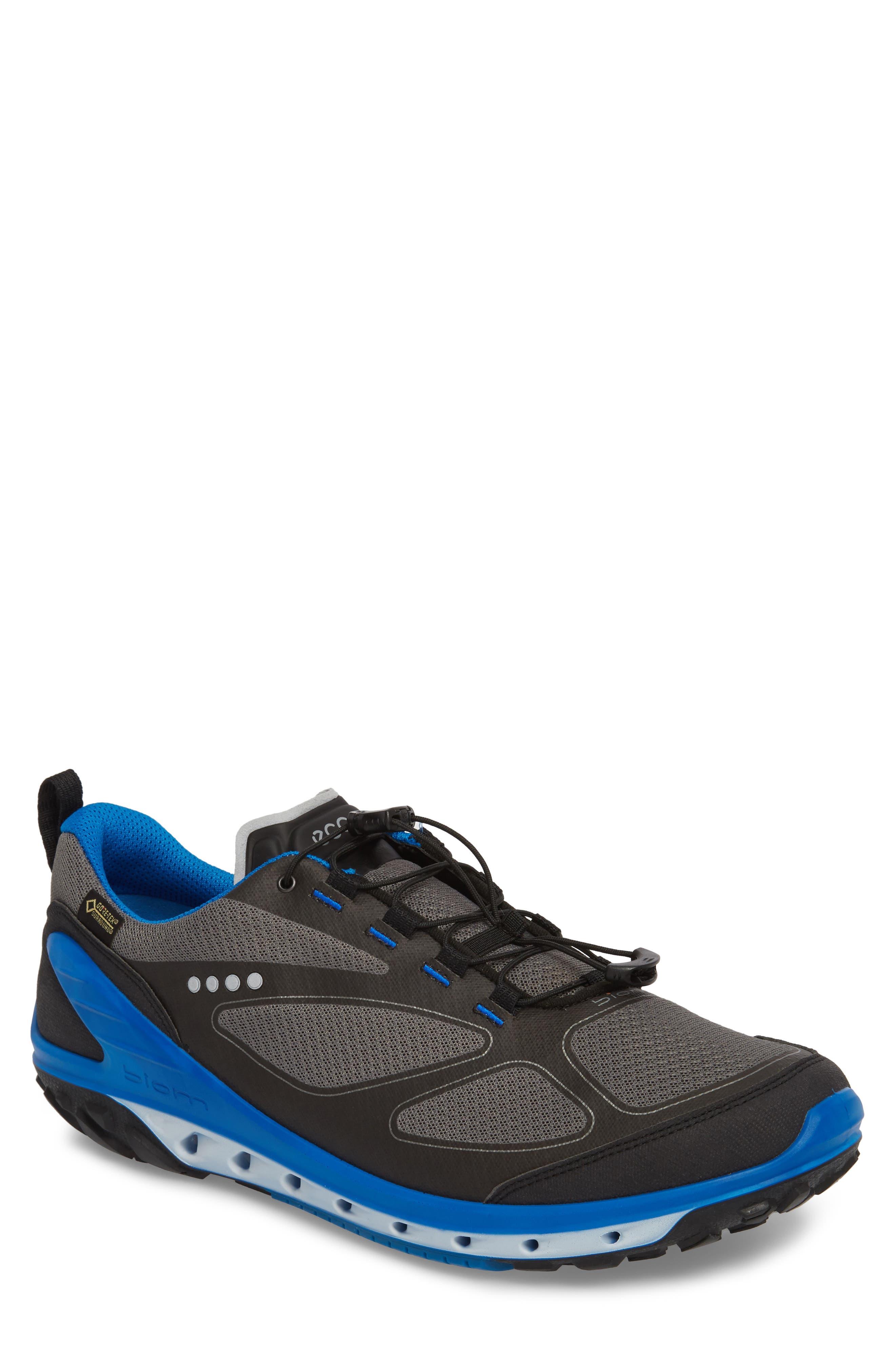 BIOM Venture GTX Sneaker,                             Main thumbnail 1, color,                             Black/ Titanium Leather