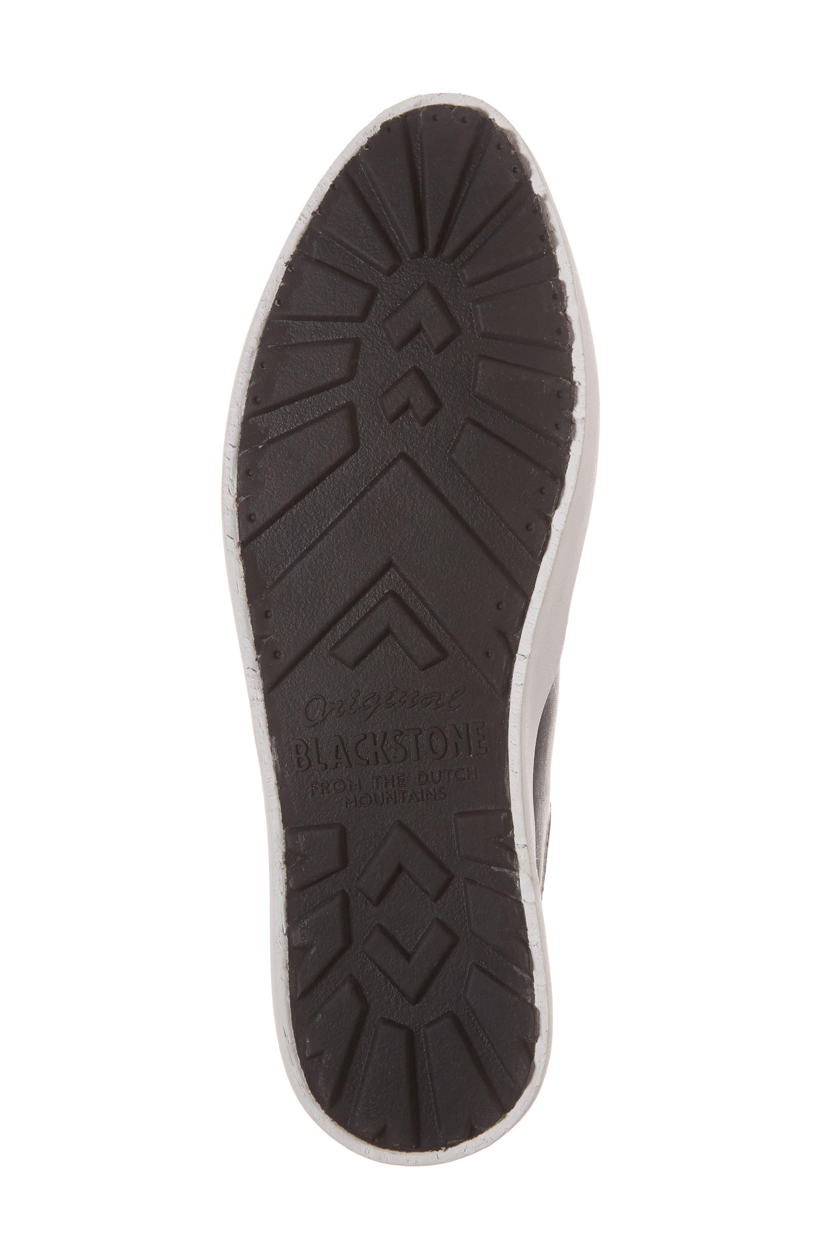 PL74 Sneaker,                             Alternate thumbnail 6, color,                             Black Leather