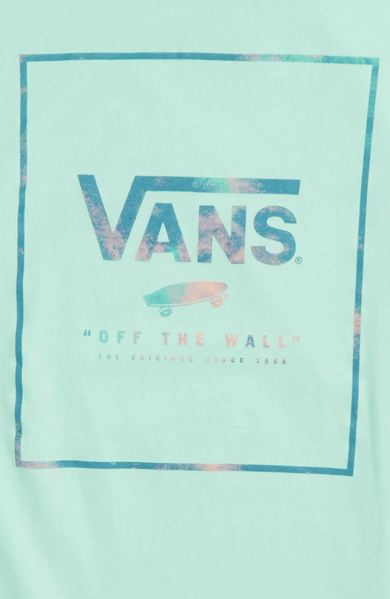 Alternate Image 2  - Vans Logo Box Graphic T-Shirt (Big Boys)