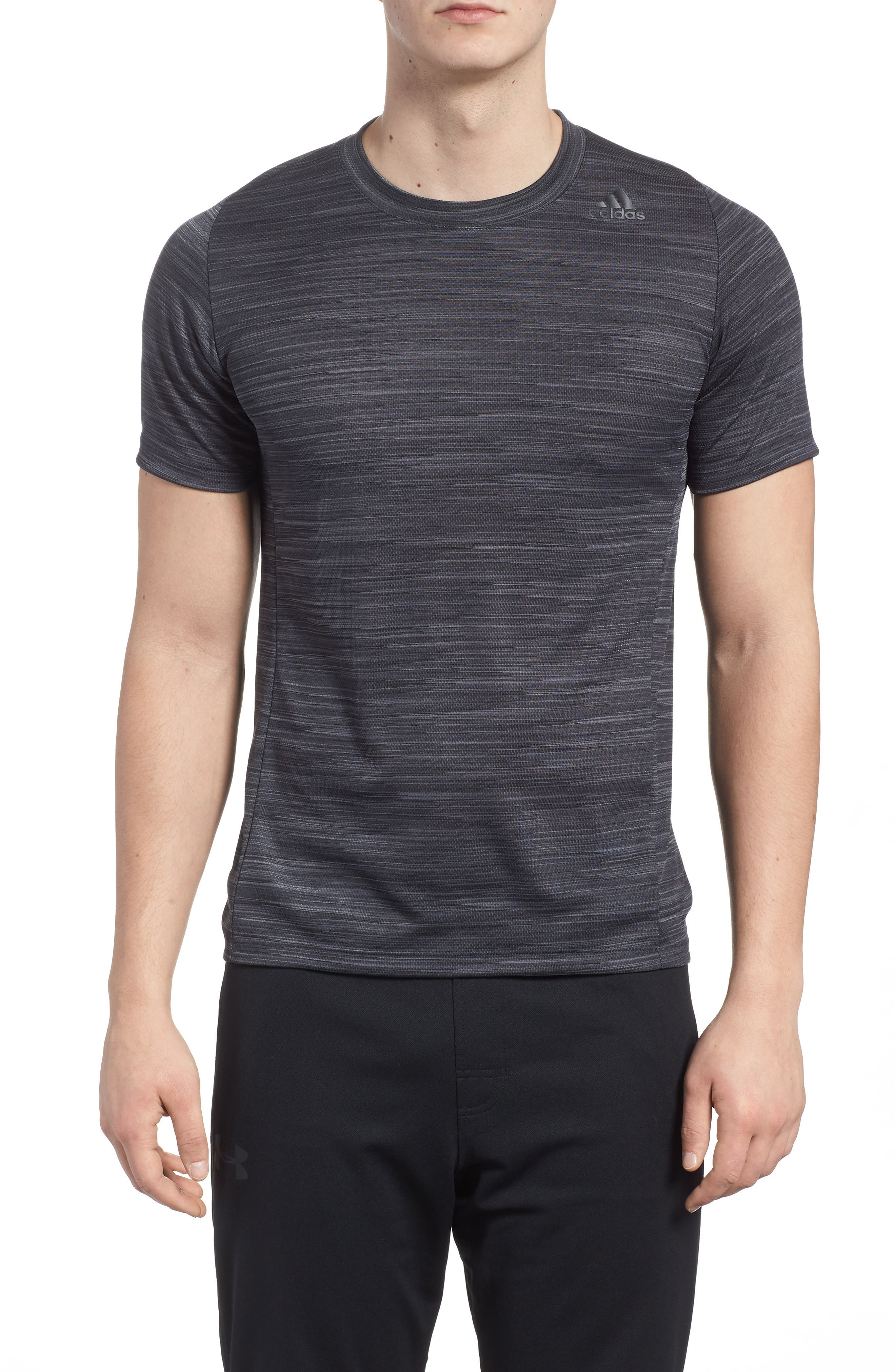 Ultimate Tech T-Shirt,                             Main thumbnail 1, color,                             Carbon