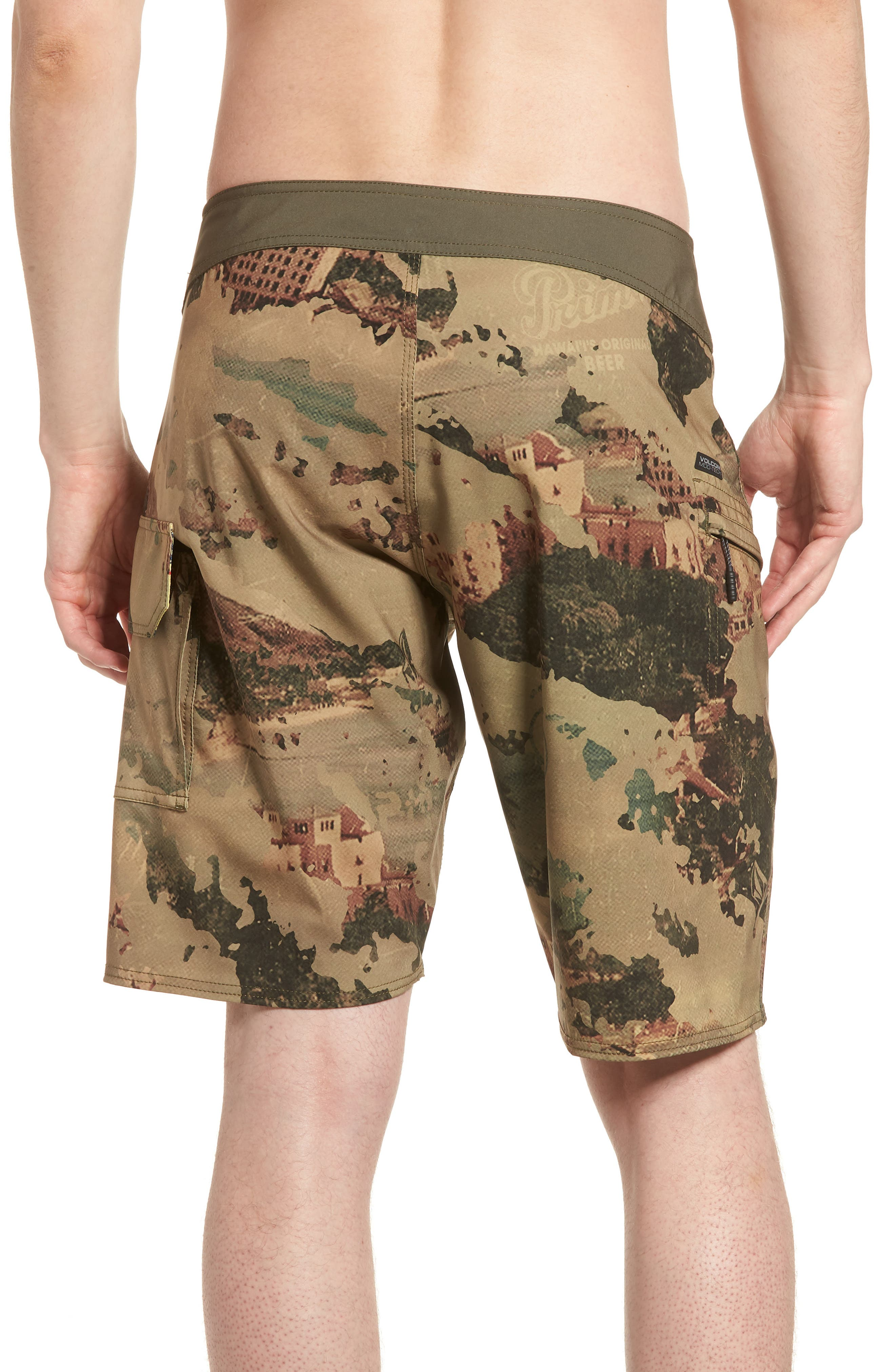Primo Beer Board Shorts,                             Alternate thumbnail 2, color,                             Camouflage