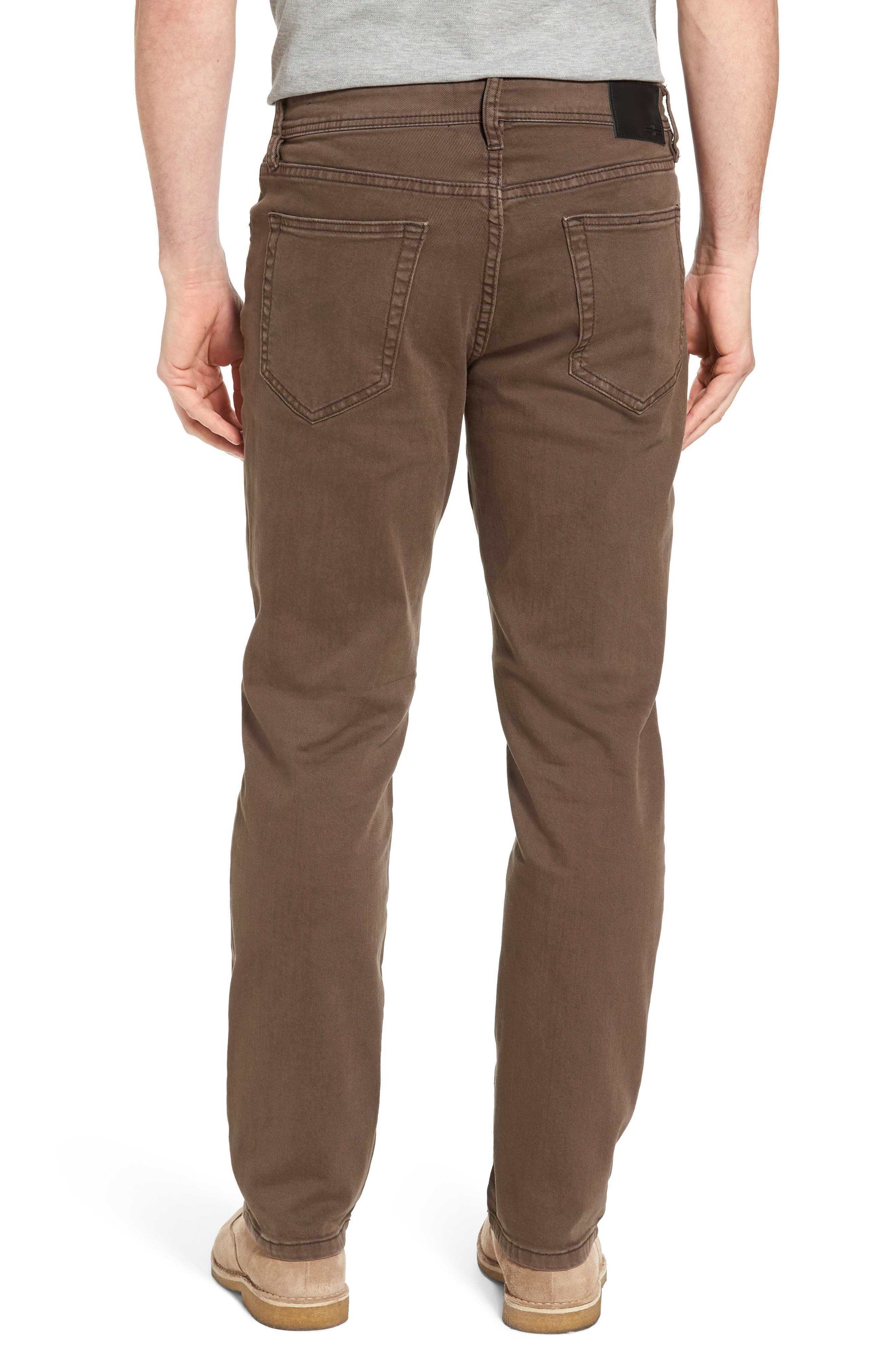 Jeans Co. Regent Relaxed Fit Jeans,                             Alternate thumbnail 2, color,                             Tobacco Leaf