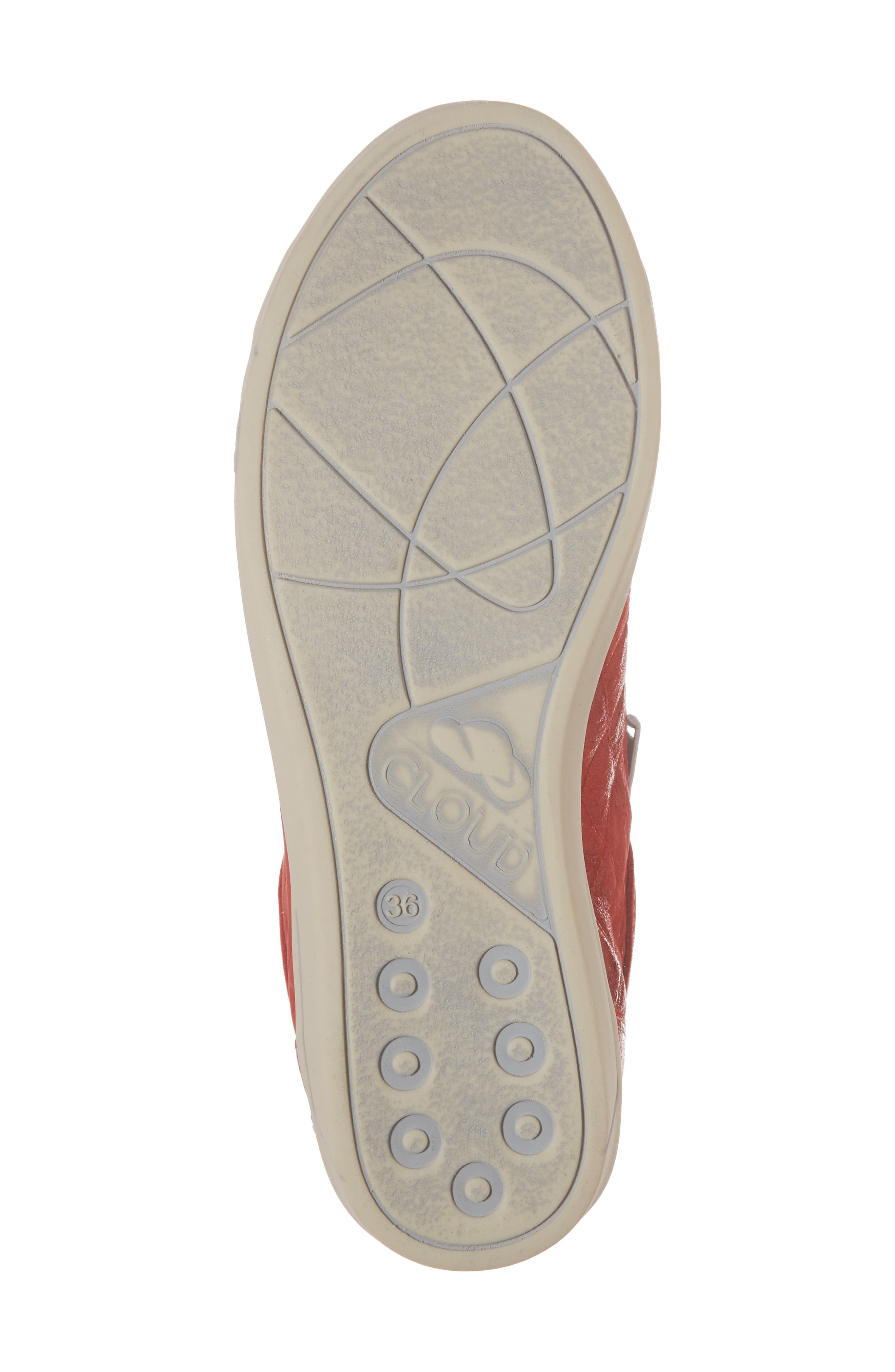 Alessia Sneaker,                             Alternate thumbnail 6, color,                             Red Stinger Leather