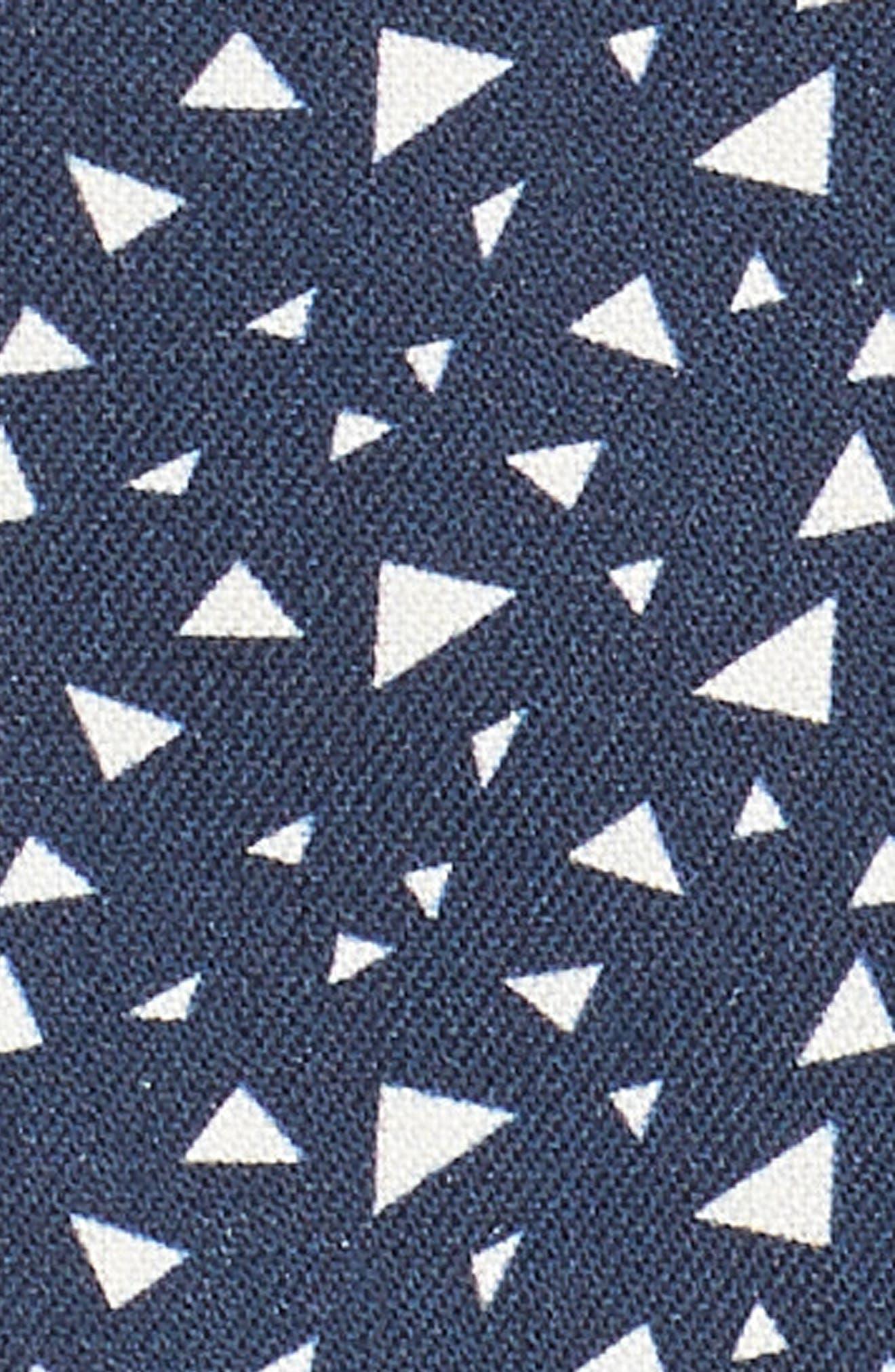 Bermuda Triangle Camp Shirt,                             Alternate thumbnail 5, color,                             Nat Blue