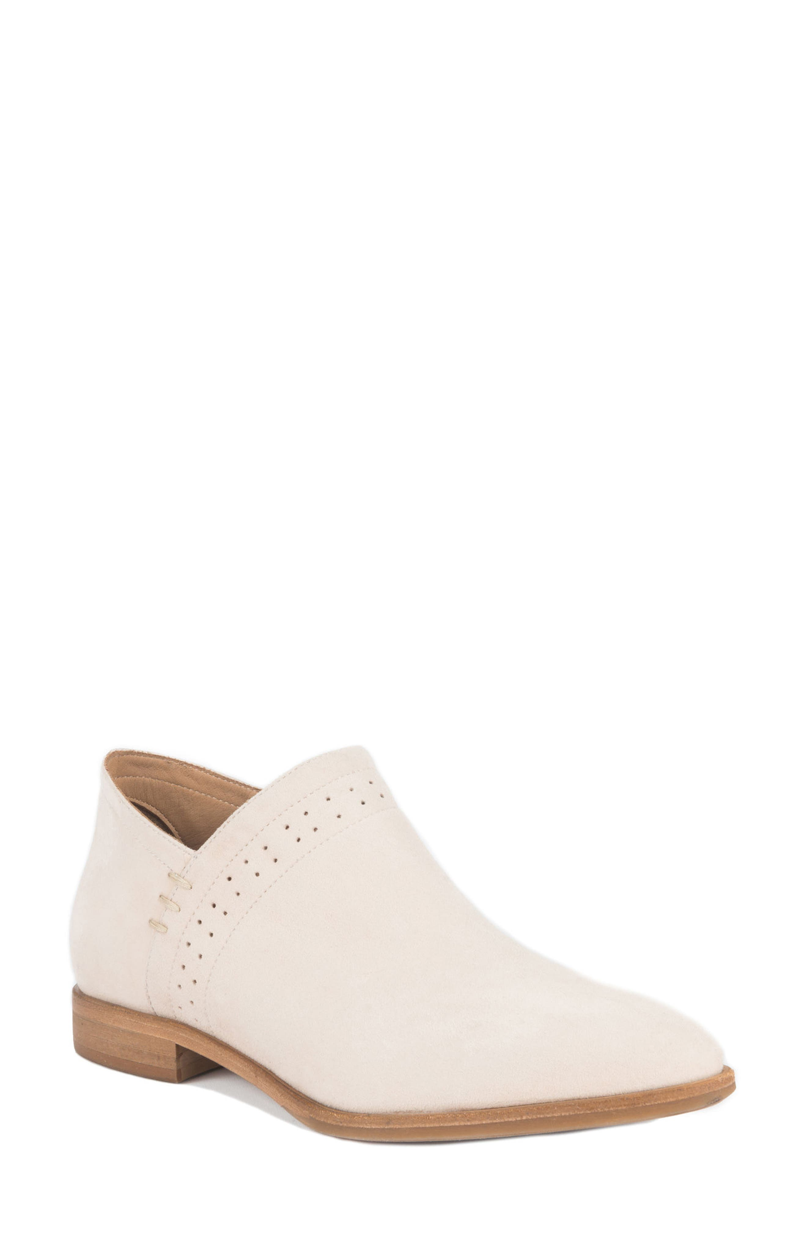 Florence Water Resistant Bootie,                             Main thumbnail 1, color,                             Bone