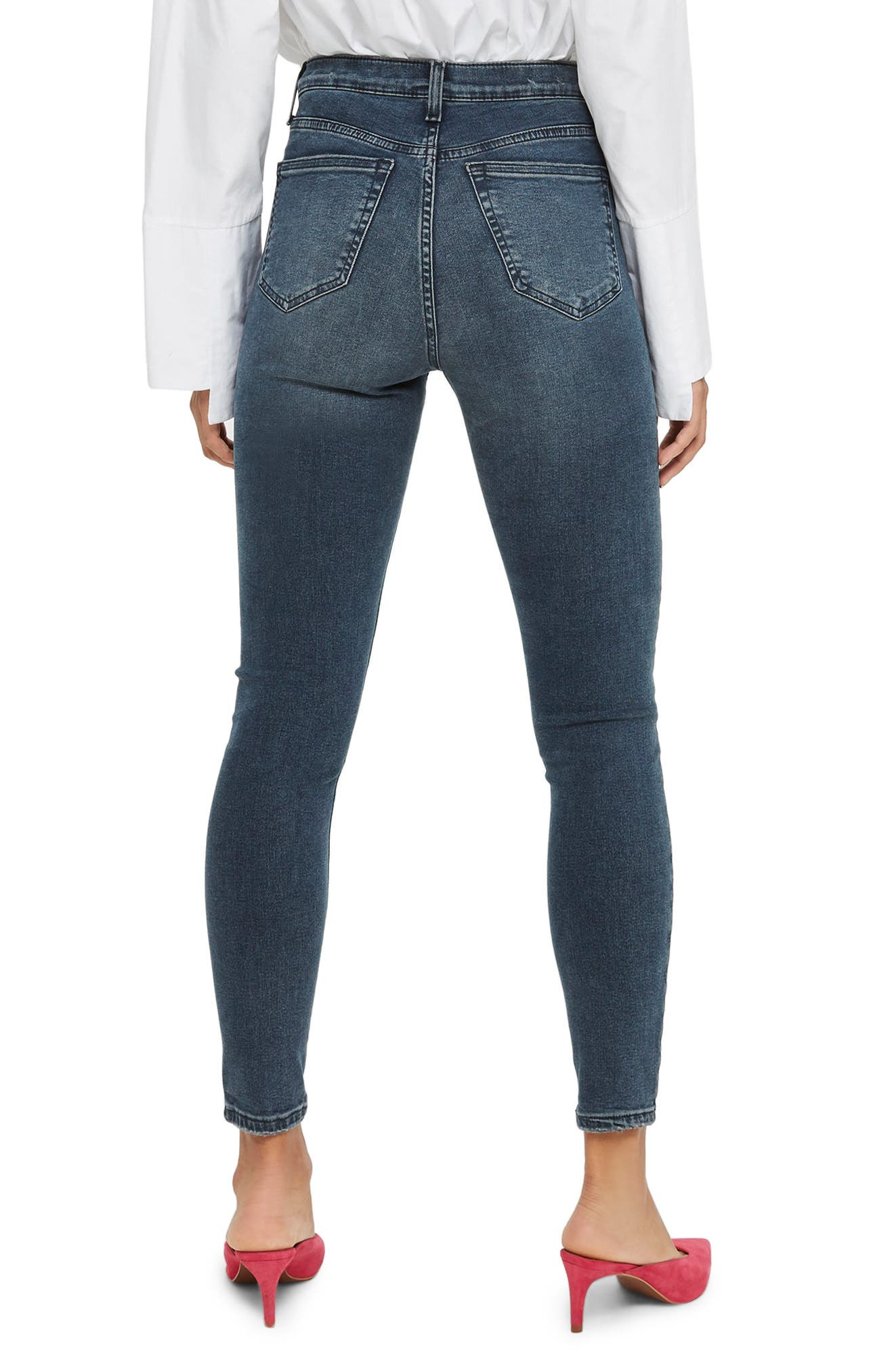 Jamie Jeans,                             Alternate thumbnail 3, color,                             Smokey Blue