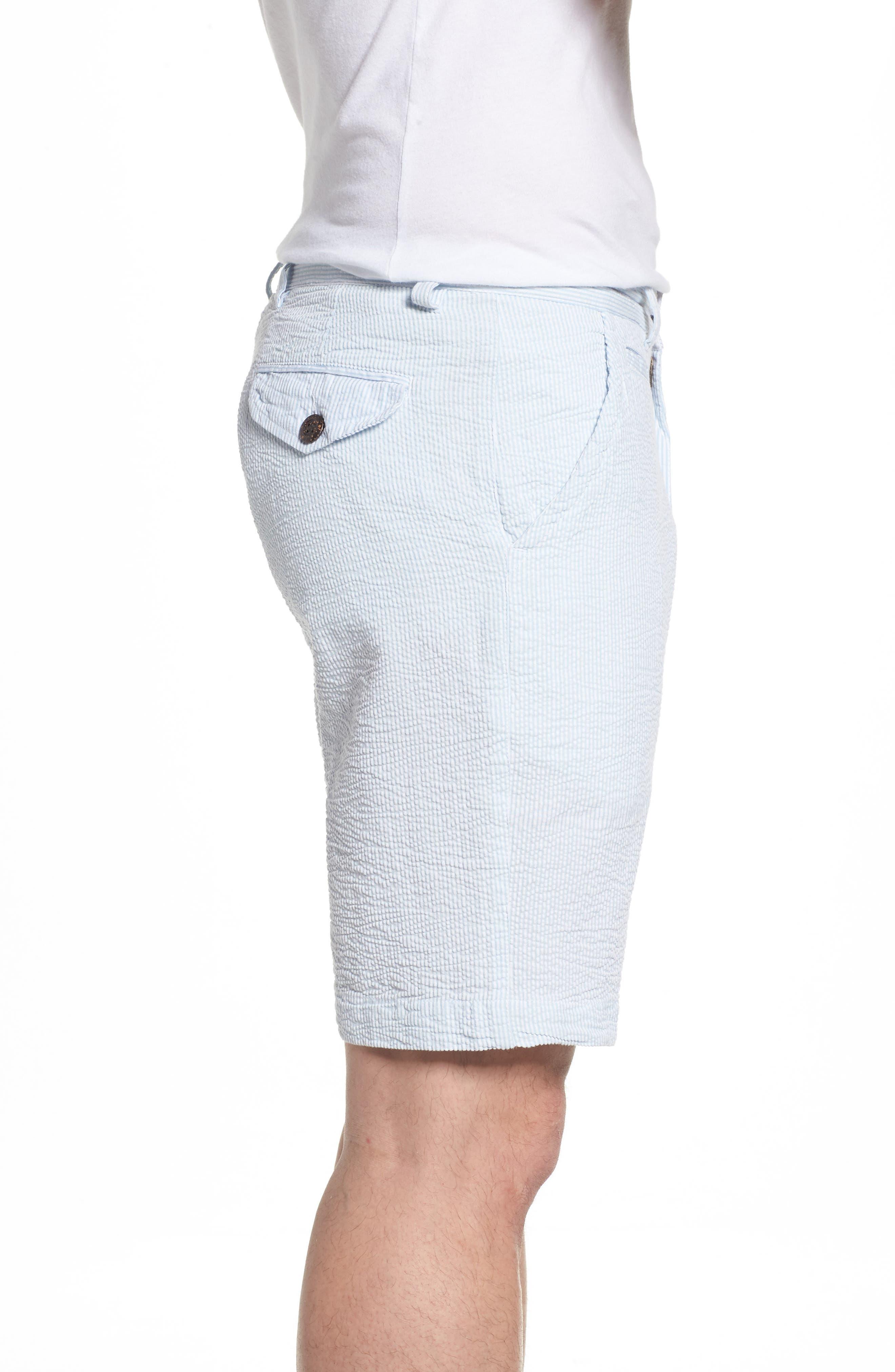 Alternate Image 3  - Vintage 1946 Vintage Wash Seersucker Shorts