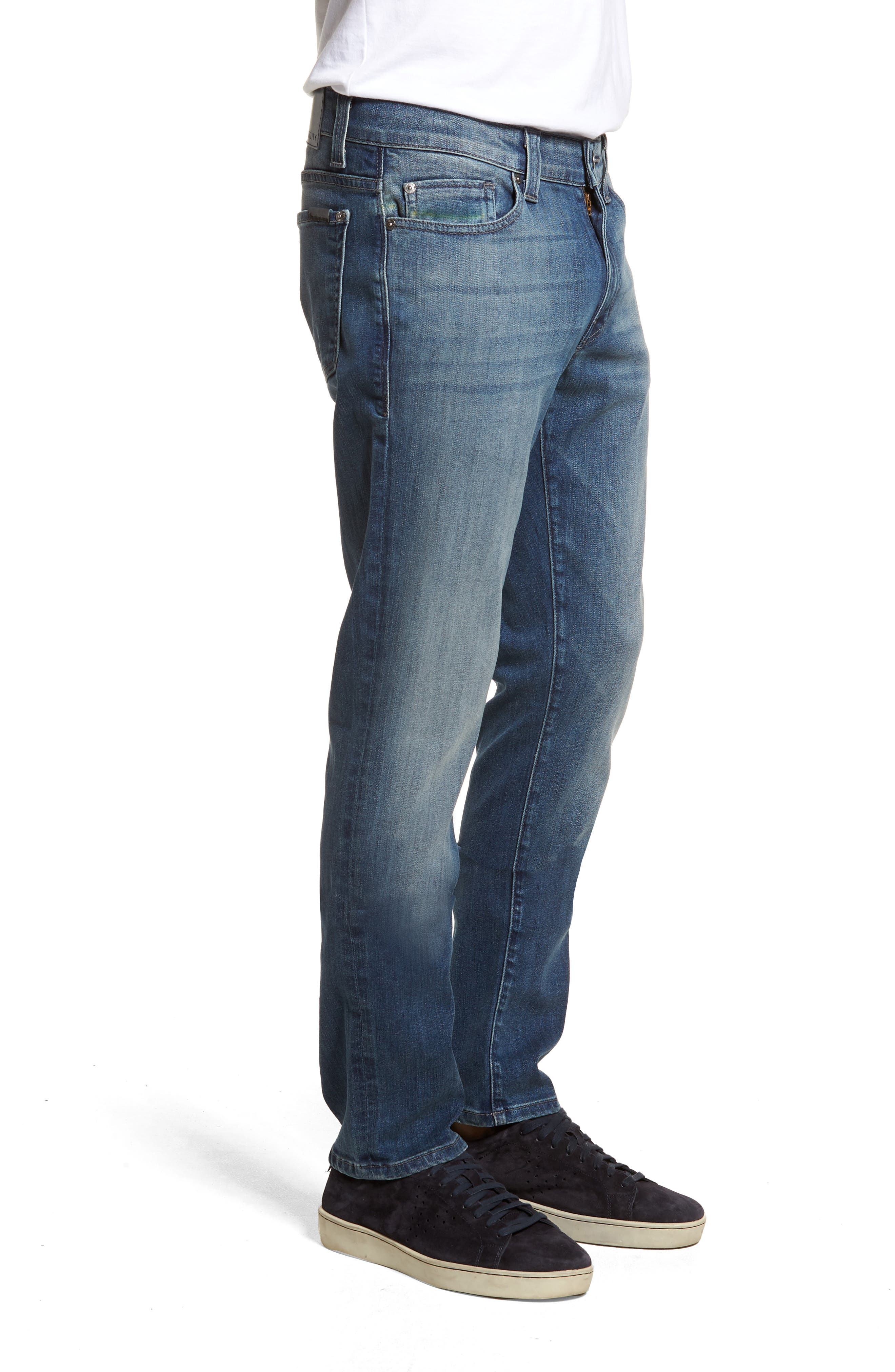 Torino Slim Fit Jeans,                             Alternate thumbnail 3, color,                             Atlas Blue