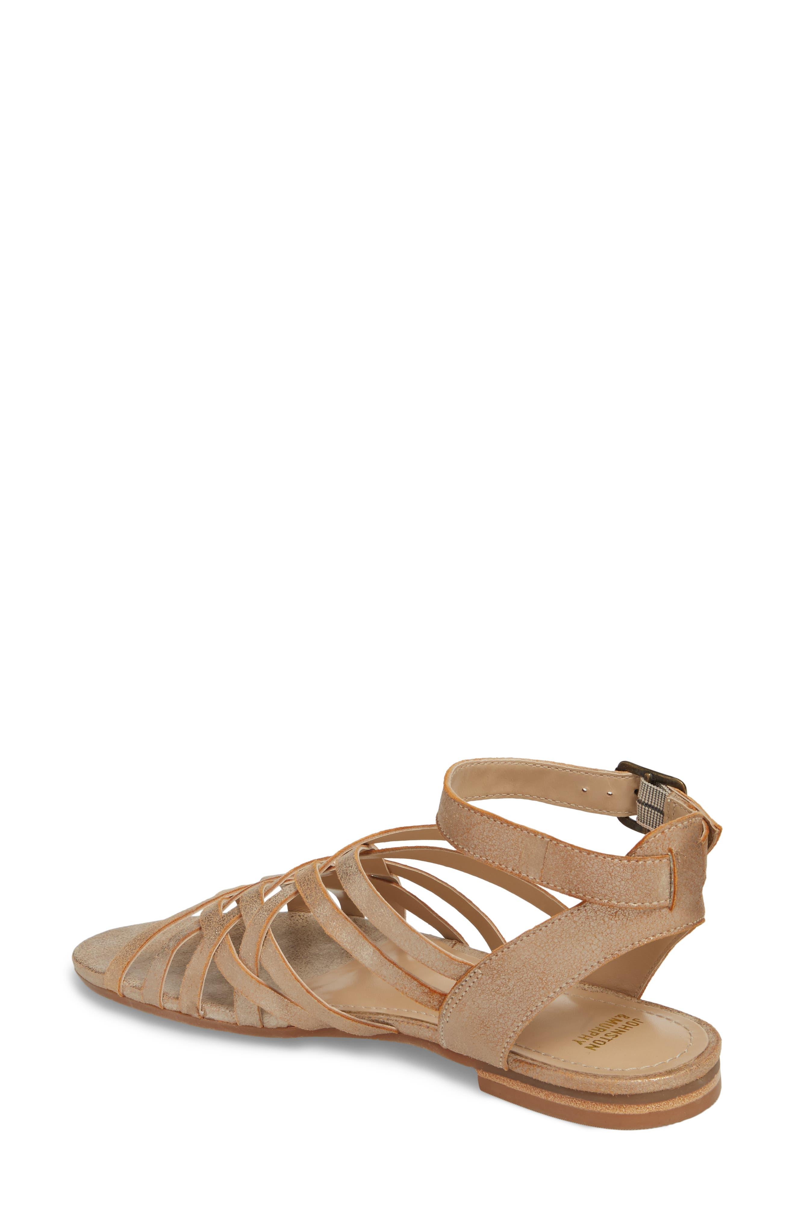 Hallie Sandal,                             Alternate thumbnail 2, color,                             Copper Leather