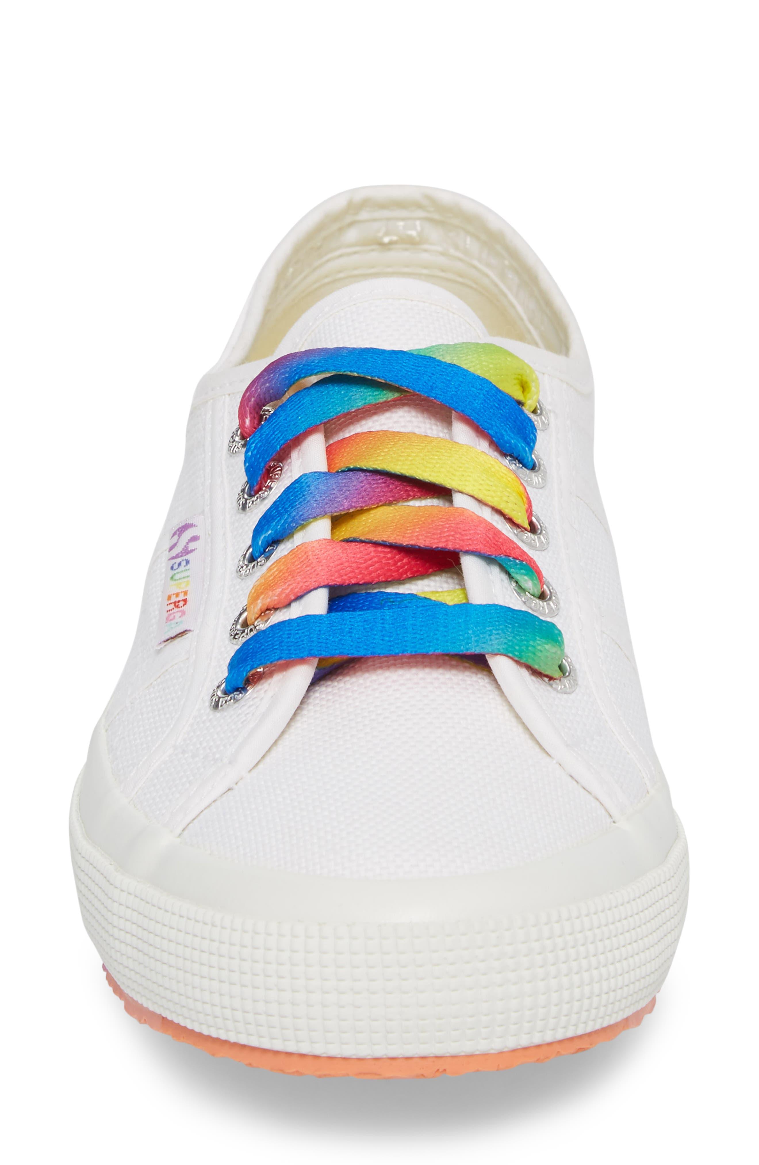 2750 Multicolor Sneaker,                             Alternate thumbnail 4, color,                             White Multi