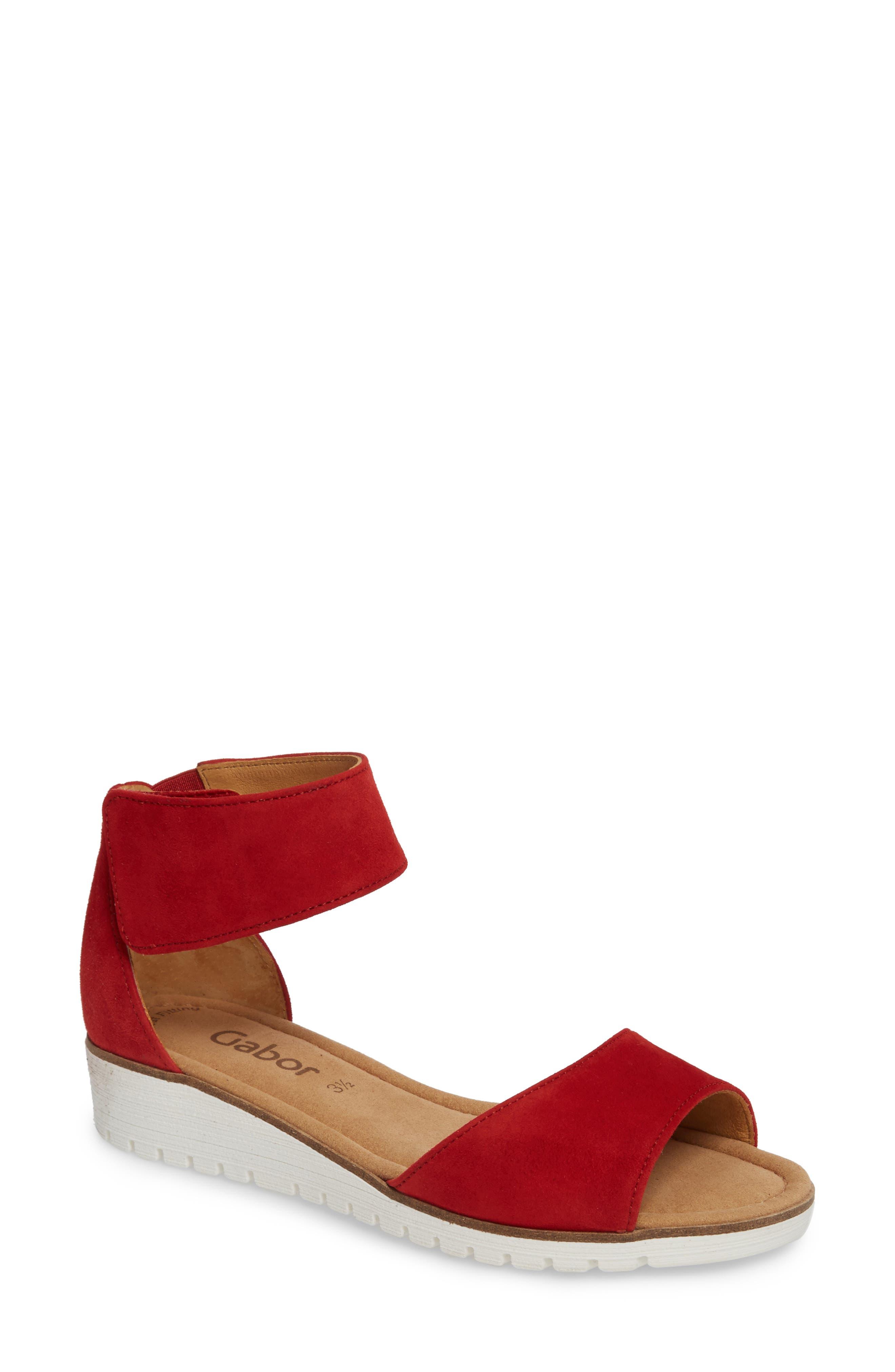 Gabor Ankle Strap Sandal (Women)
