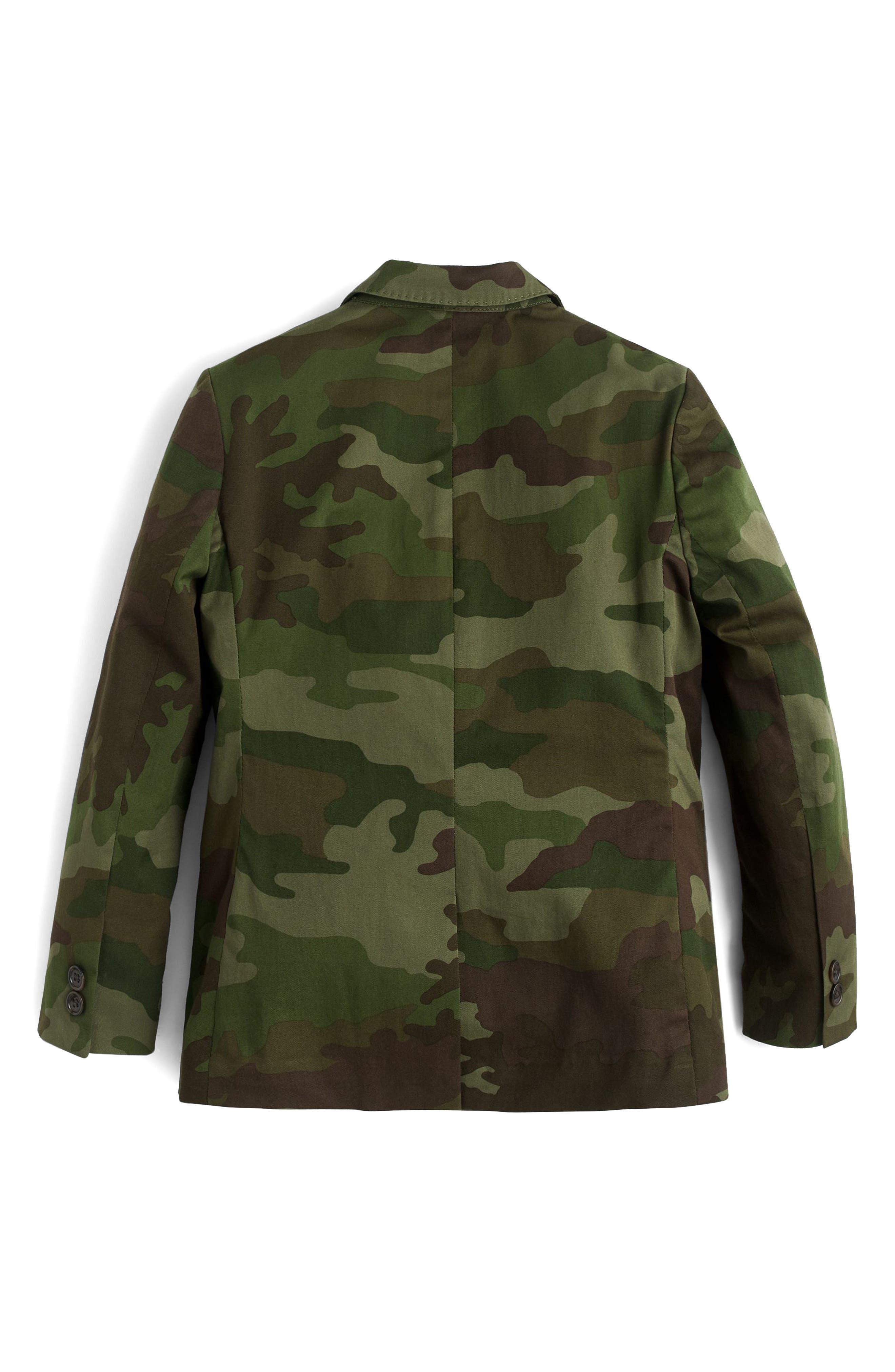 Ludlow Camo Unstructured Suit Jacket,                             Alternate thumbnail 2, color,                             Camo Multi Wx1672