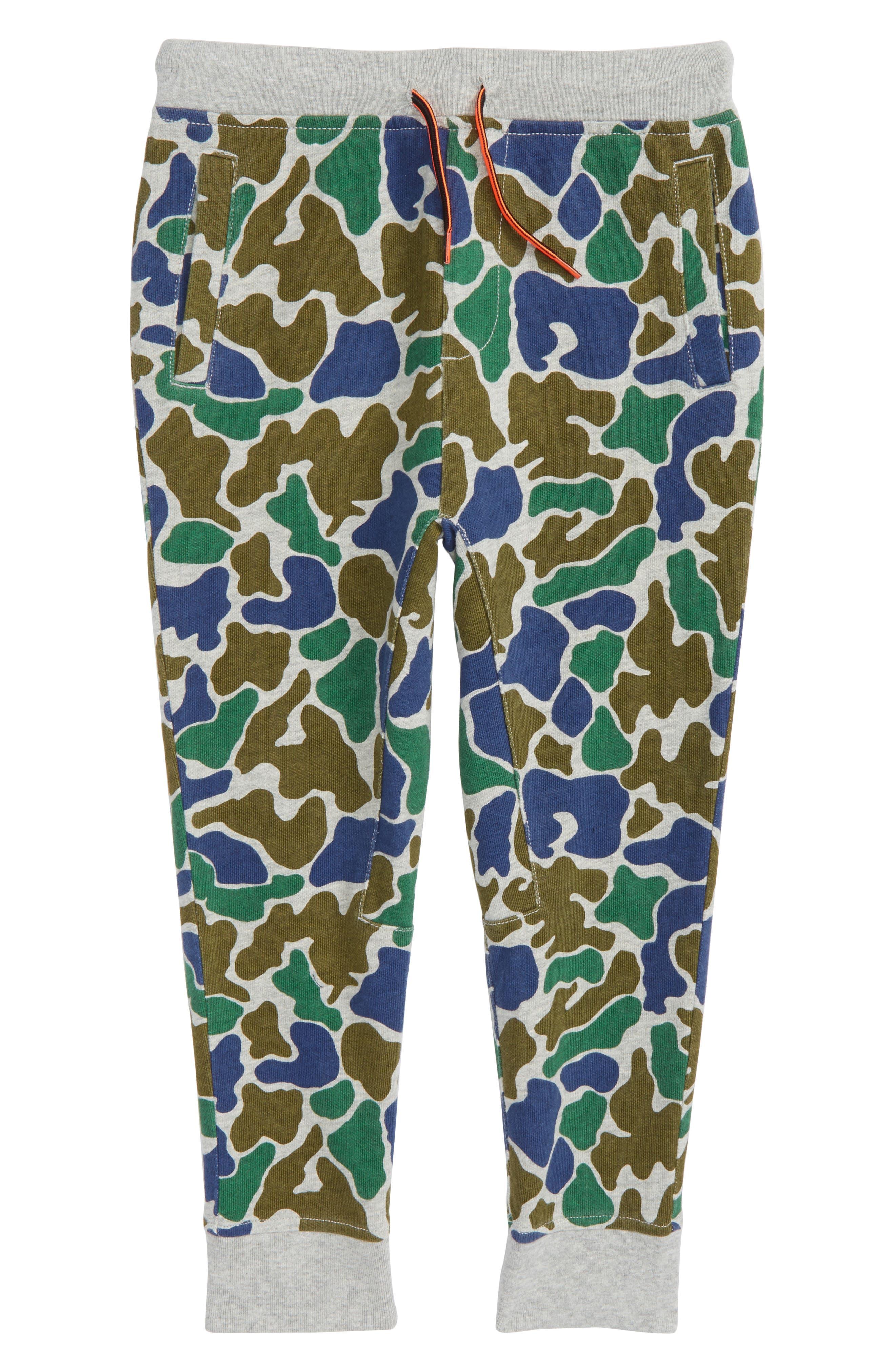 Camo Jogger Pants,                         Main,                         color, Coastline Grey
