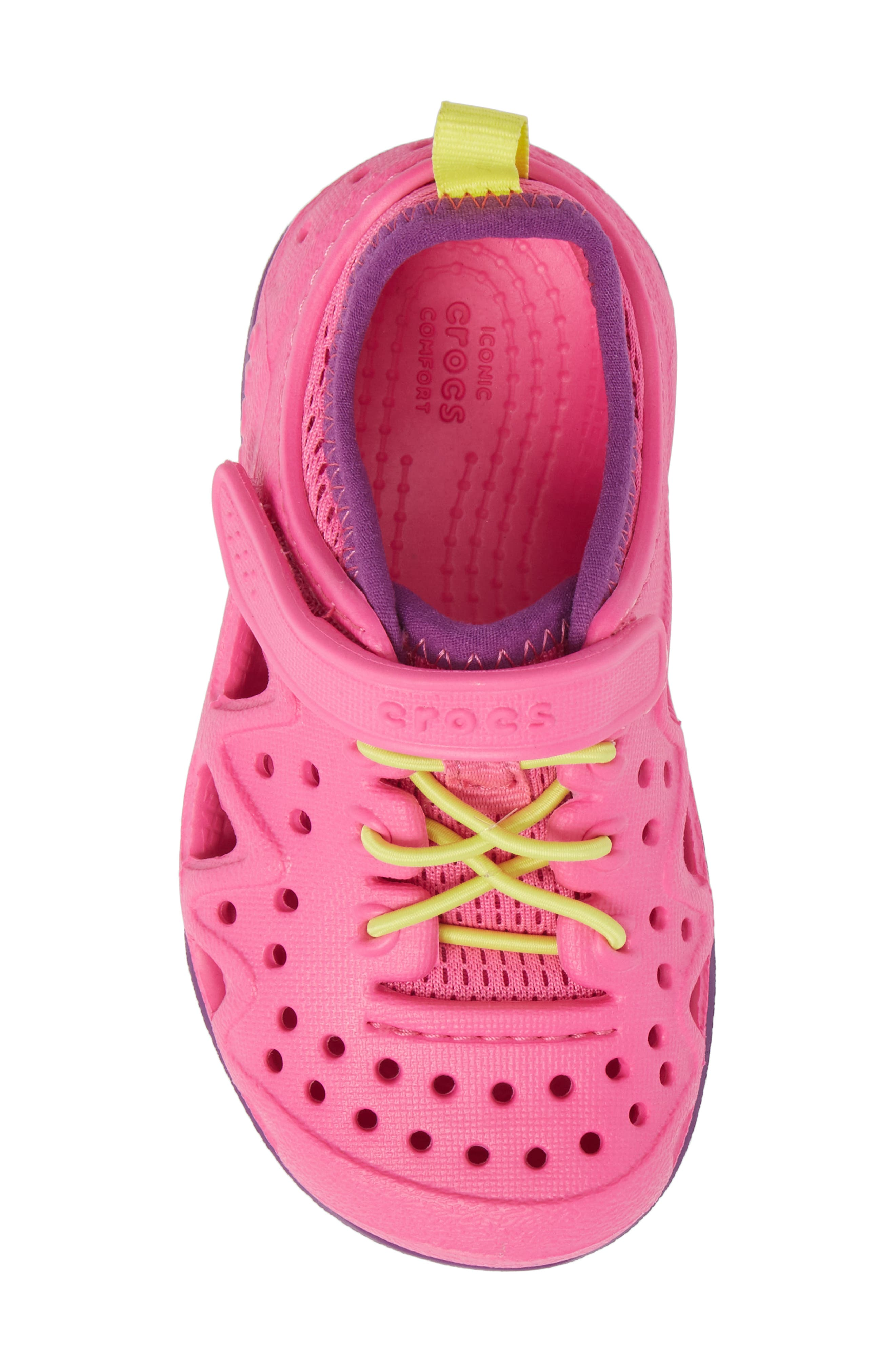 Swiftwater Water Friendly Sneaker,                             Alternate thumbnail 5, color,                             Neon Magenta