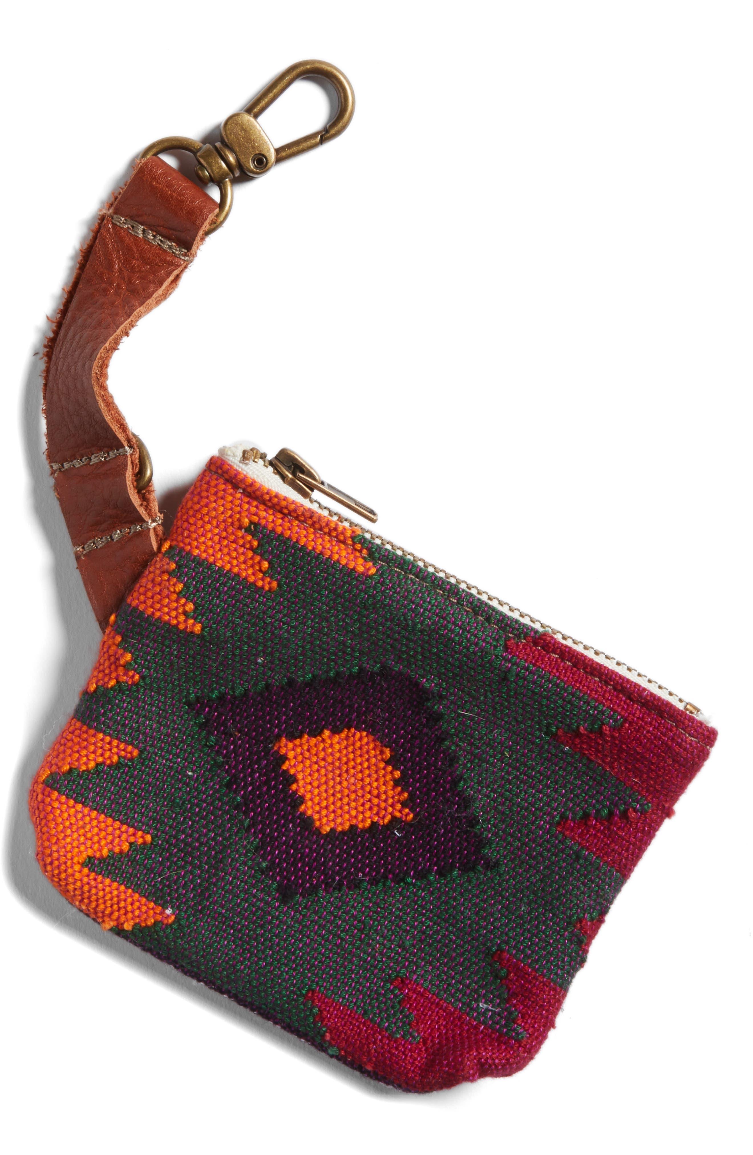 Alternate Image 1 Selected - Salvage Maria Oaxaca Sunburst Waste Bag Pouch