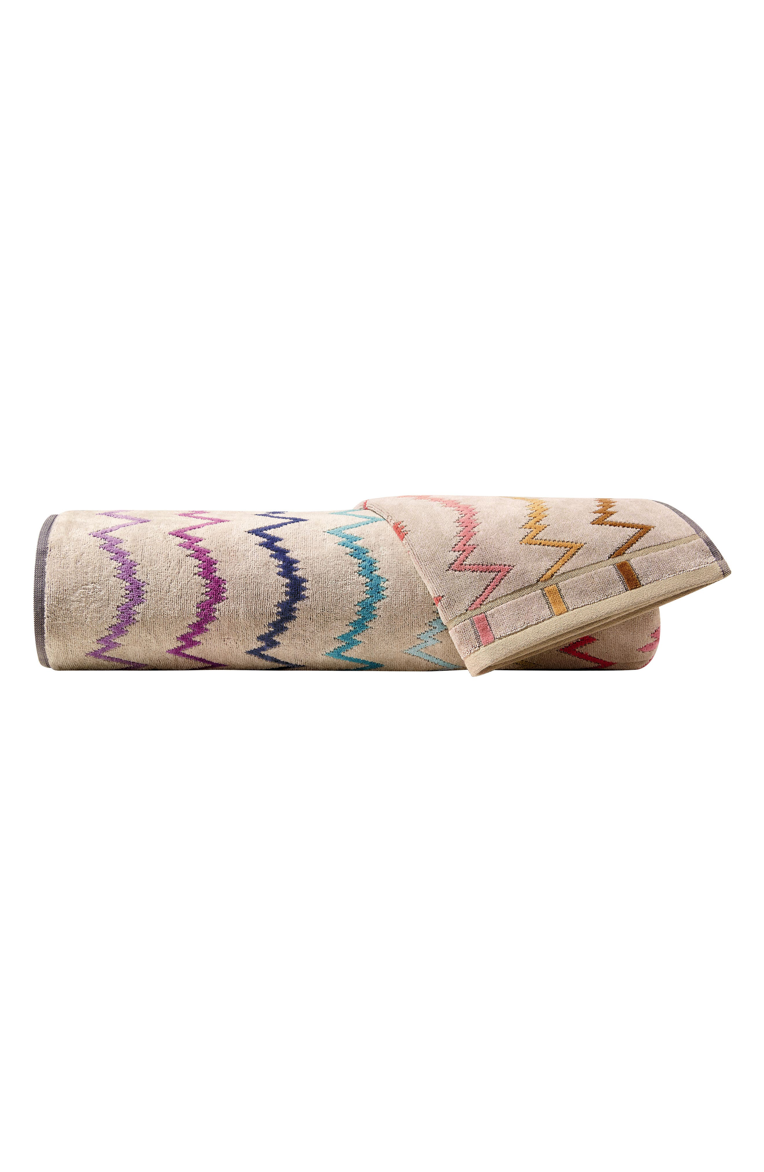 Vera Bath Sheet,                             Main thumbnail 1, color,                             Multi