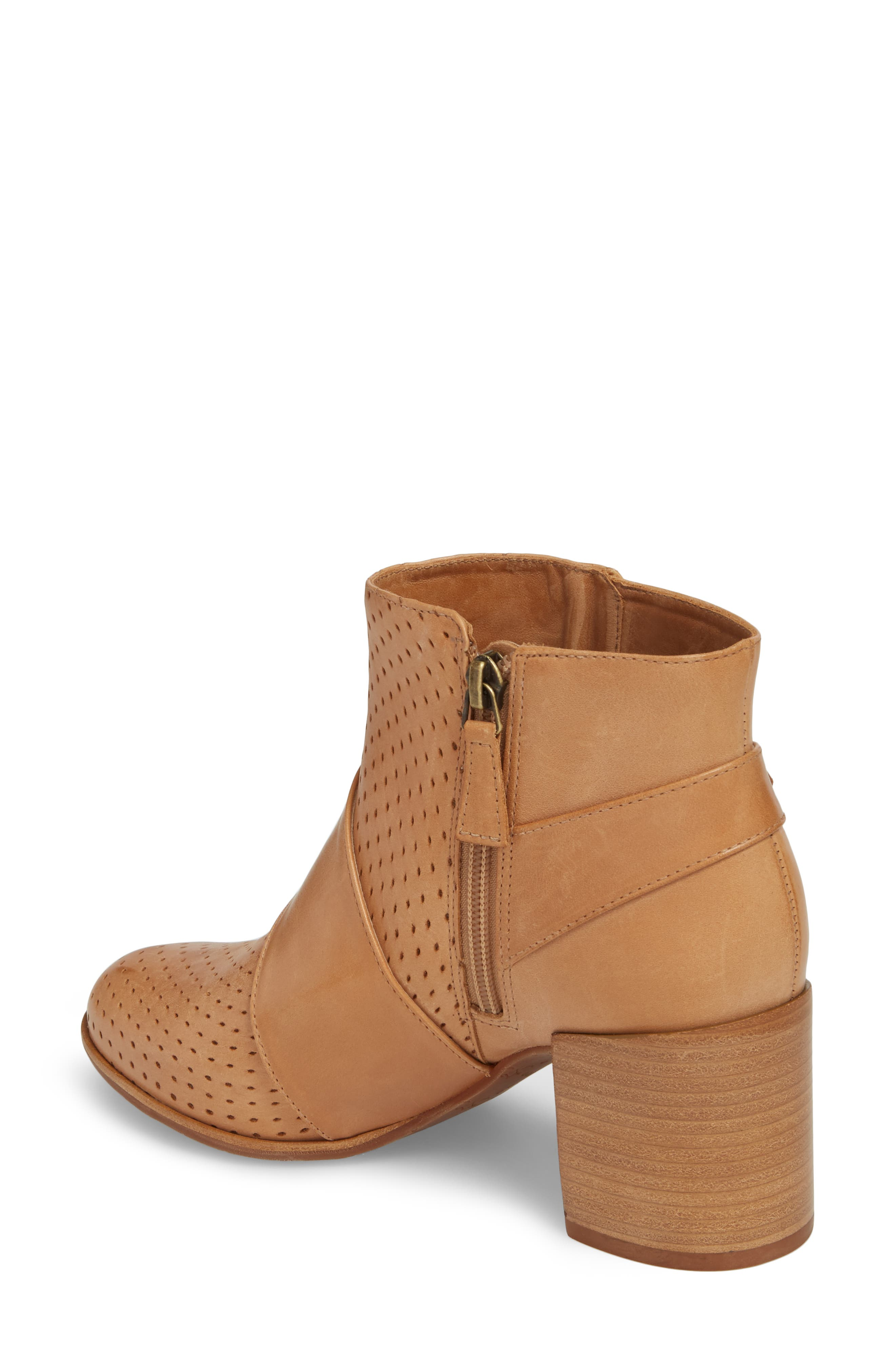 Felice Bootie,                             Alternate thumbnail 2, color,                             Tan Leather