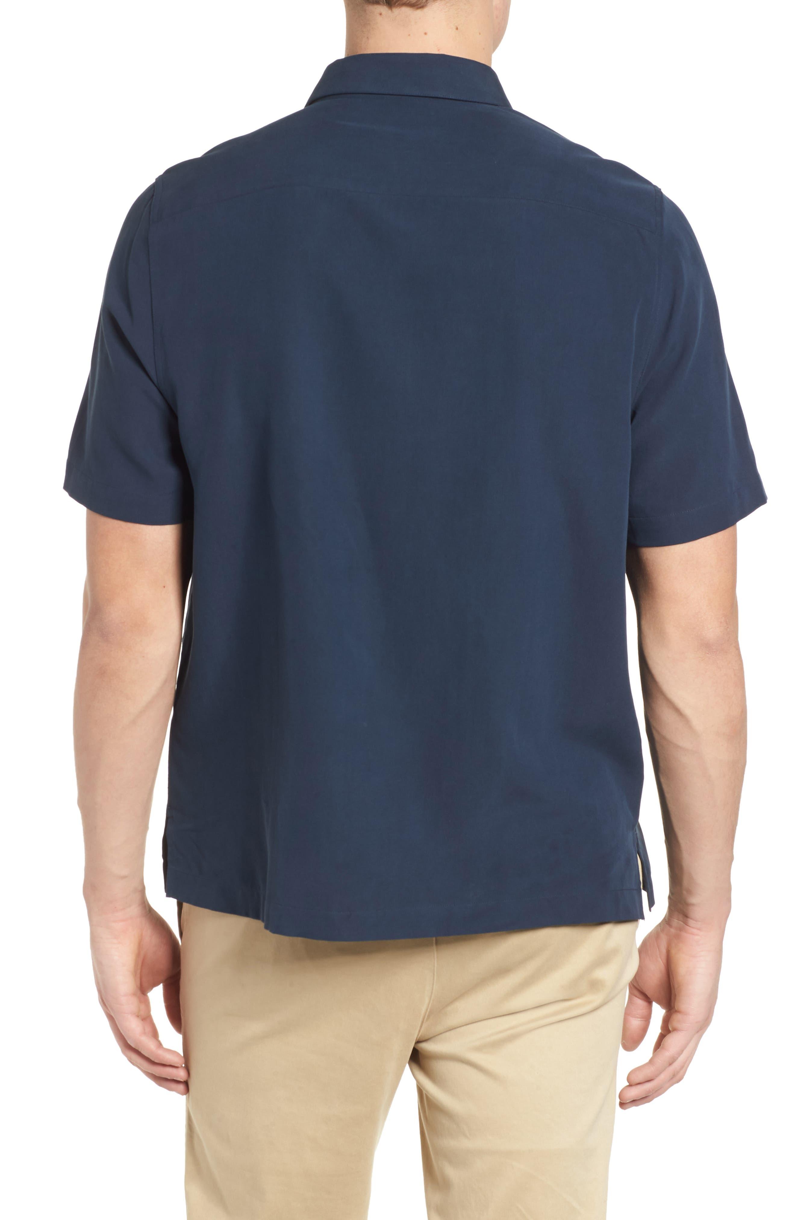Key Best Camp Shirt,                             Alternate thumbnail 2, color,                             Midnight
