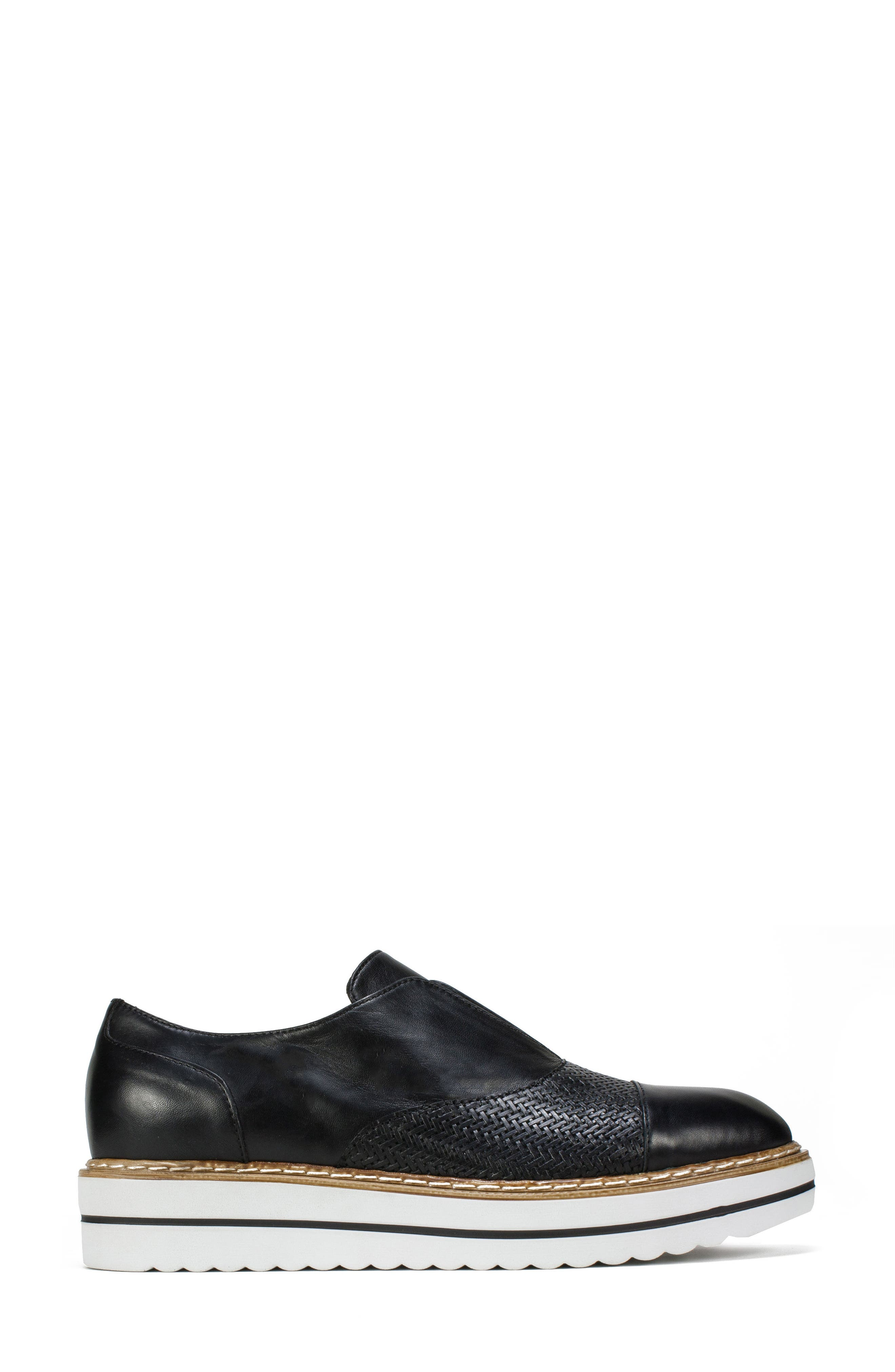 Bliss Loafer,                             Alternate thumbnail 3, color,                             Black Leather