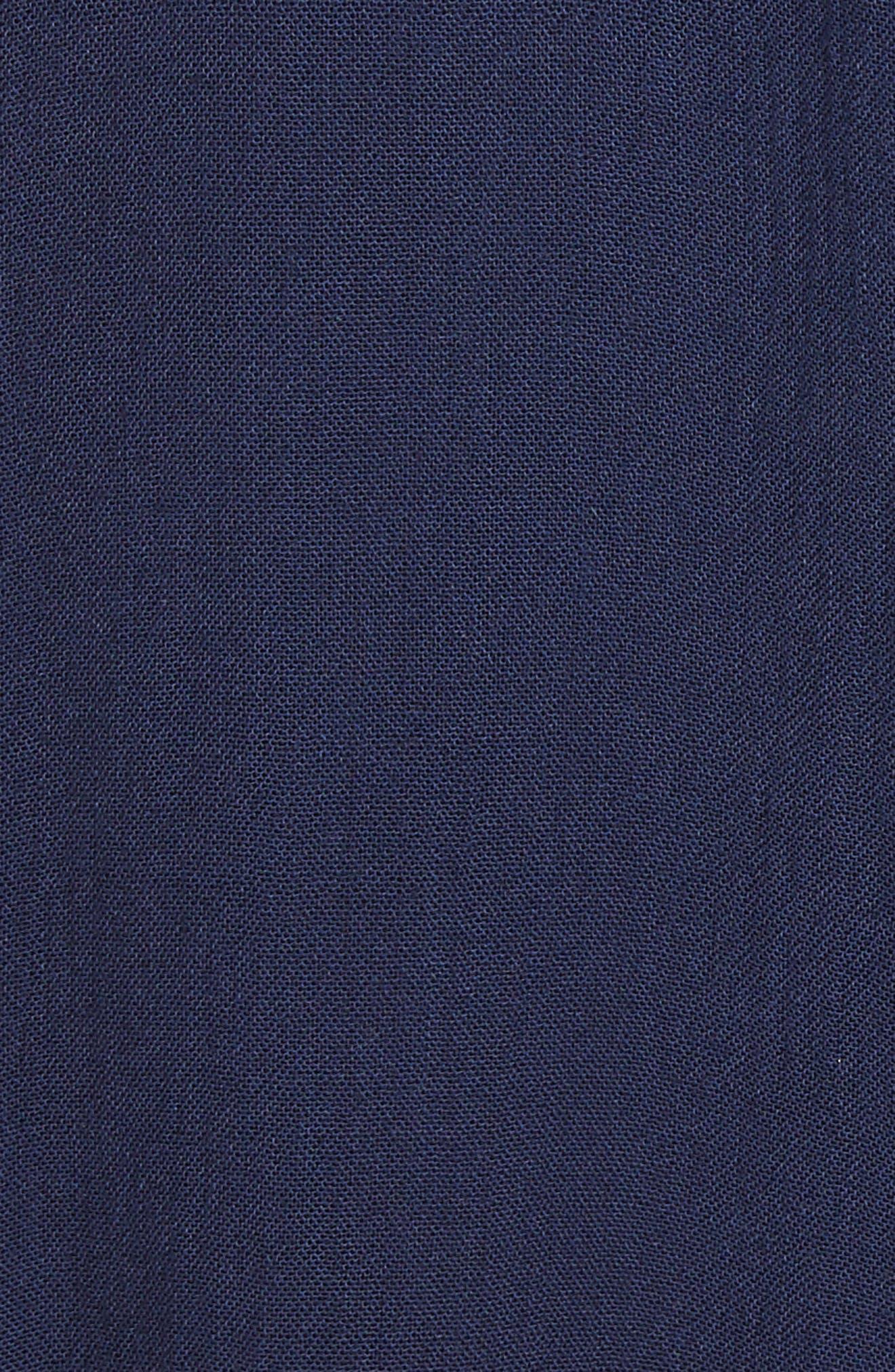 Priscilla Minidress,                             Alternate thumbnail 6, color,                             Navy