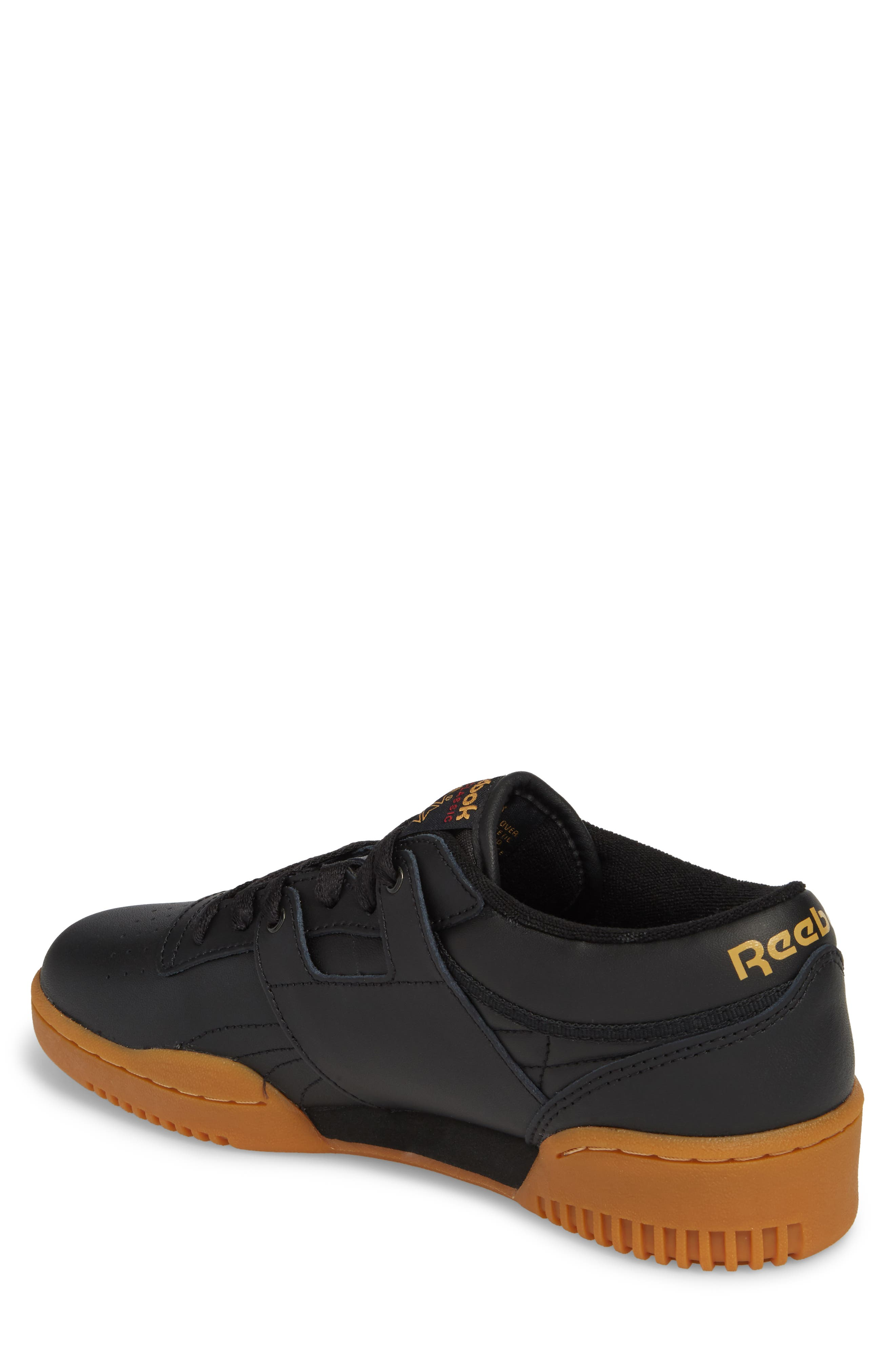 Workout Low Top Sneaker,                             Alternate thumbnail 2, color,                             Black